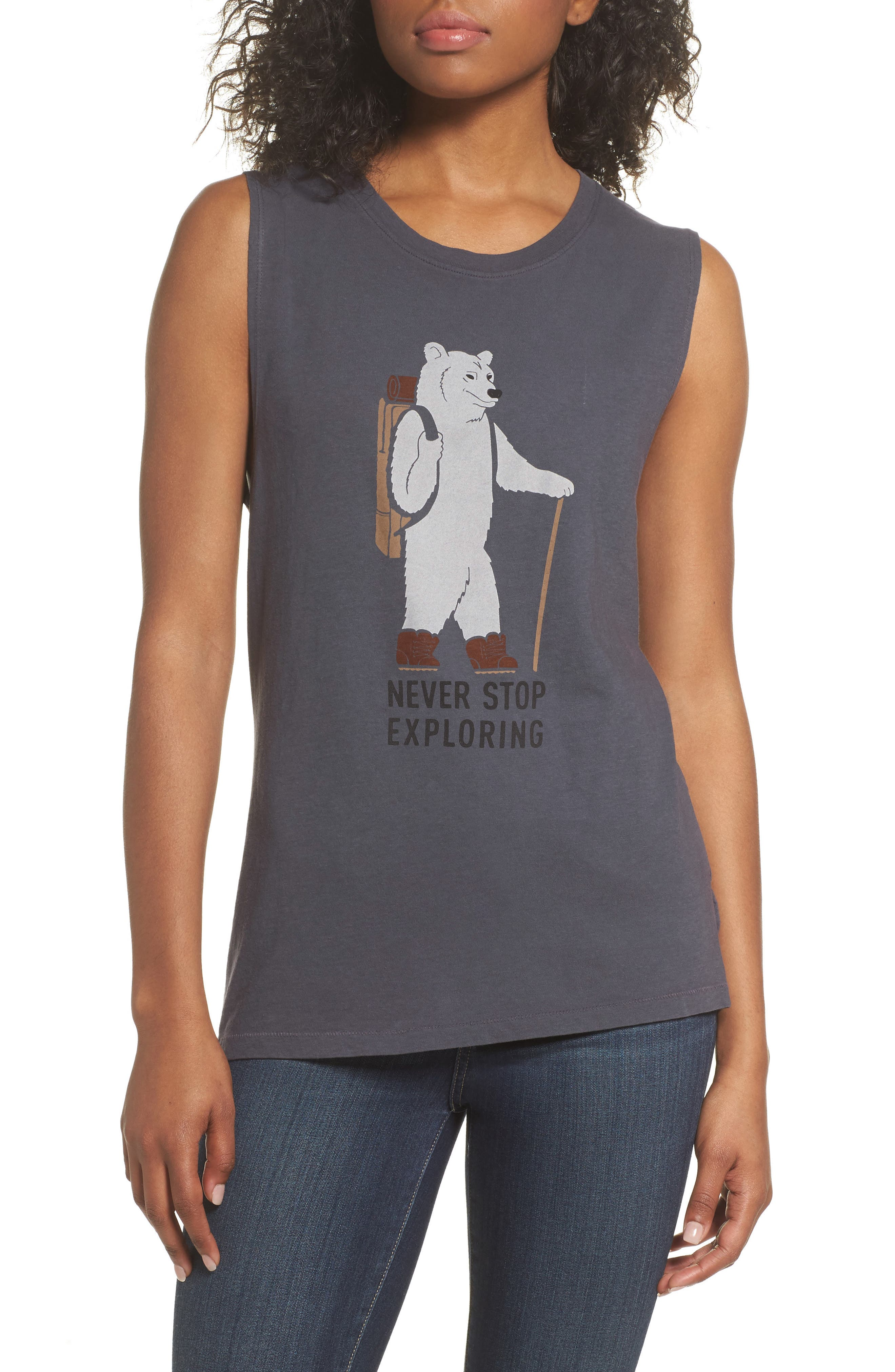 The North Face Well Loved Cruisin' Outdoors Muscle Tank