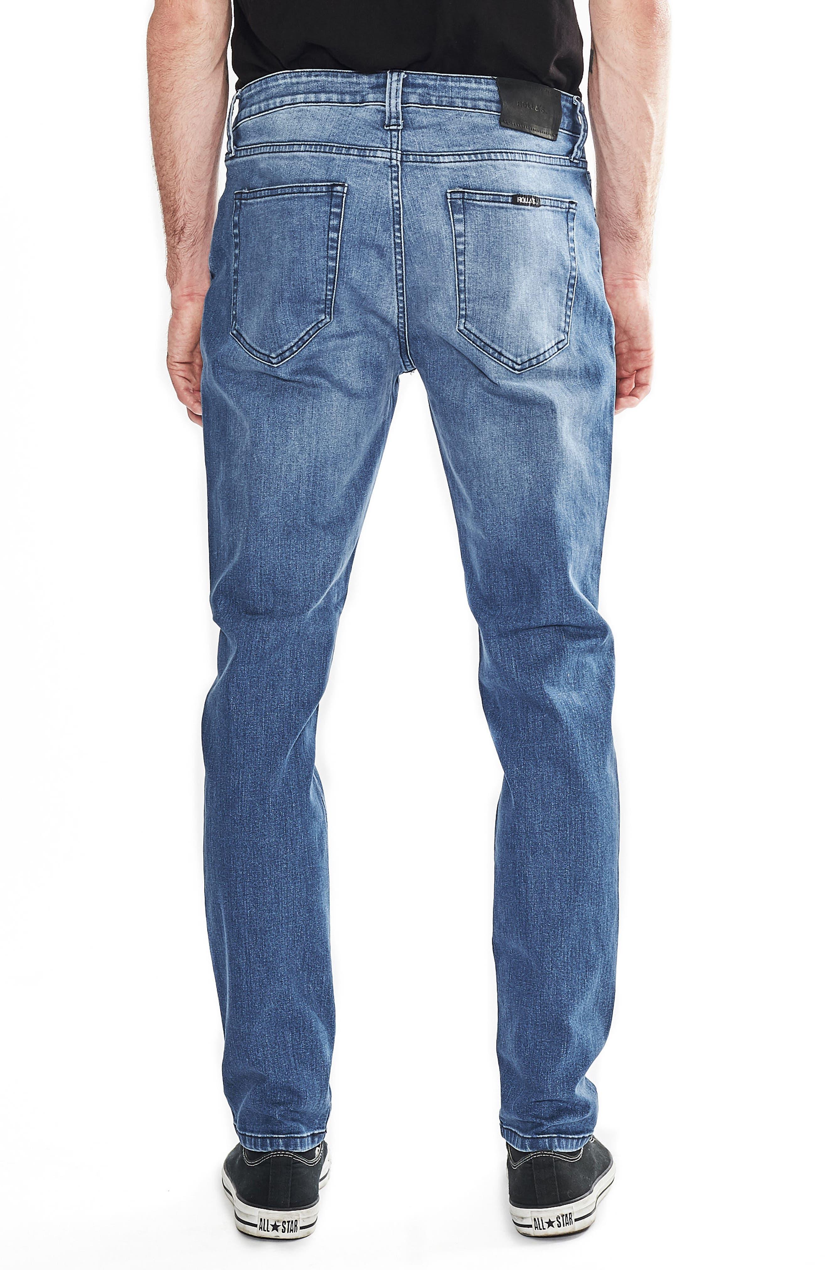 Tim Slims Slim Fit Jeans,                             Alternate thumbnail 2, color,                             Safety Beach Blue