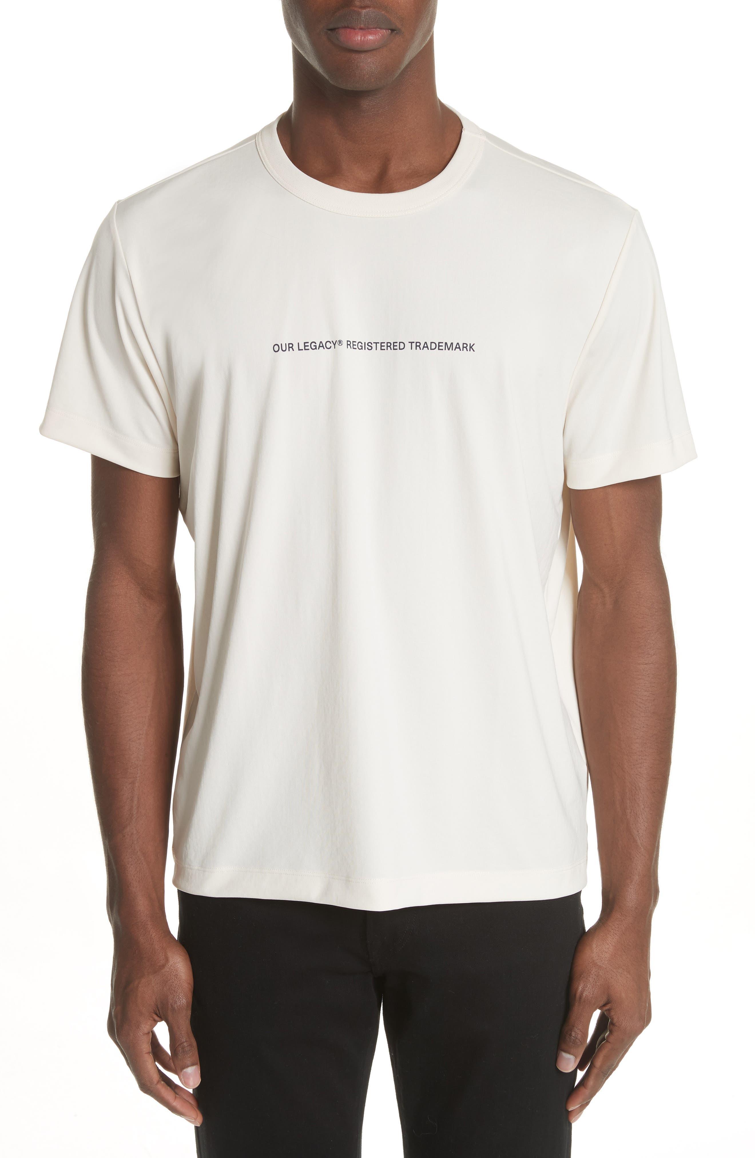 Trademark Graphic T-Shirt,                             Main thumbnail 1, color,                             White