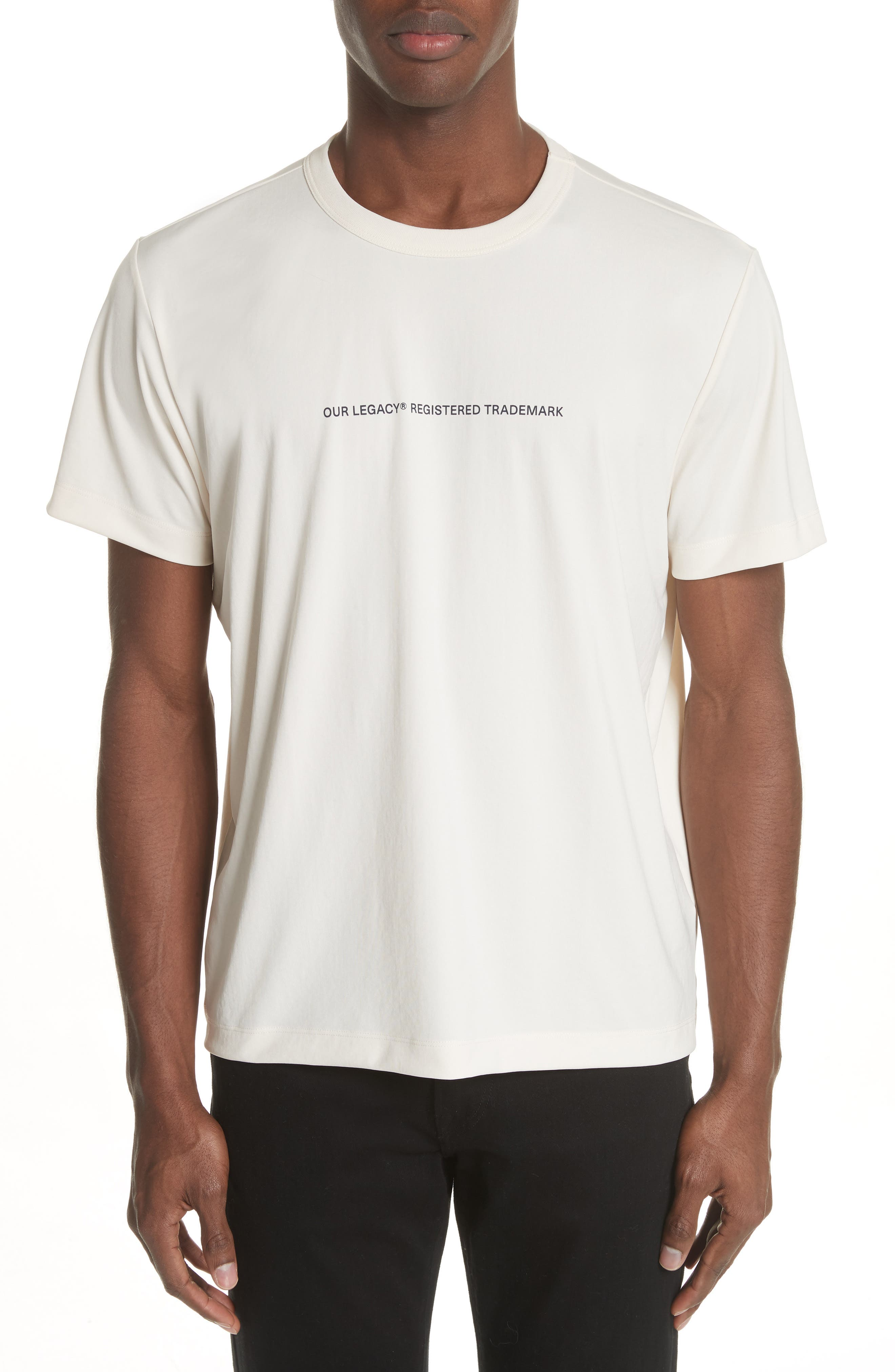 Trademark Graphic T-Shirt,                         Main,                         color, White