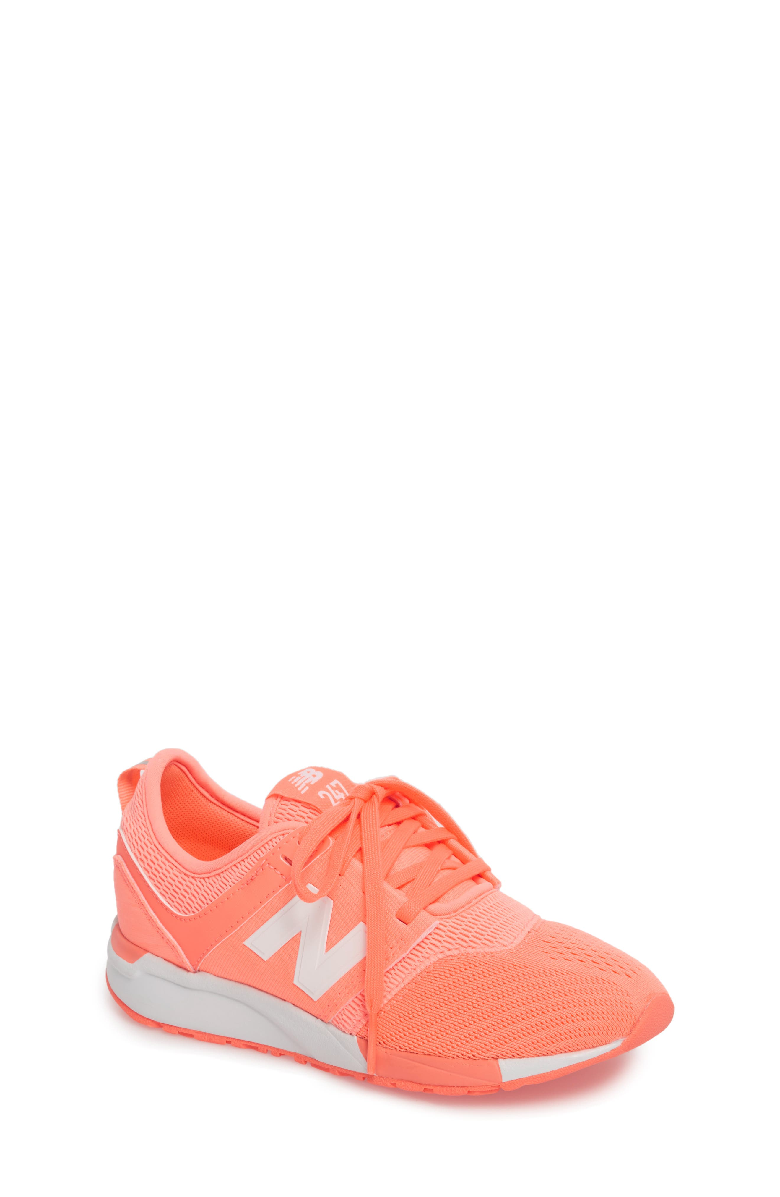 247 Sport Sneaker,                             Main thumbnail 1, color,                             Pink/ White