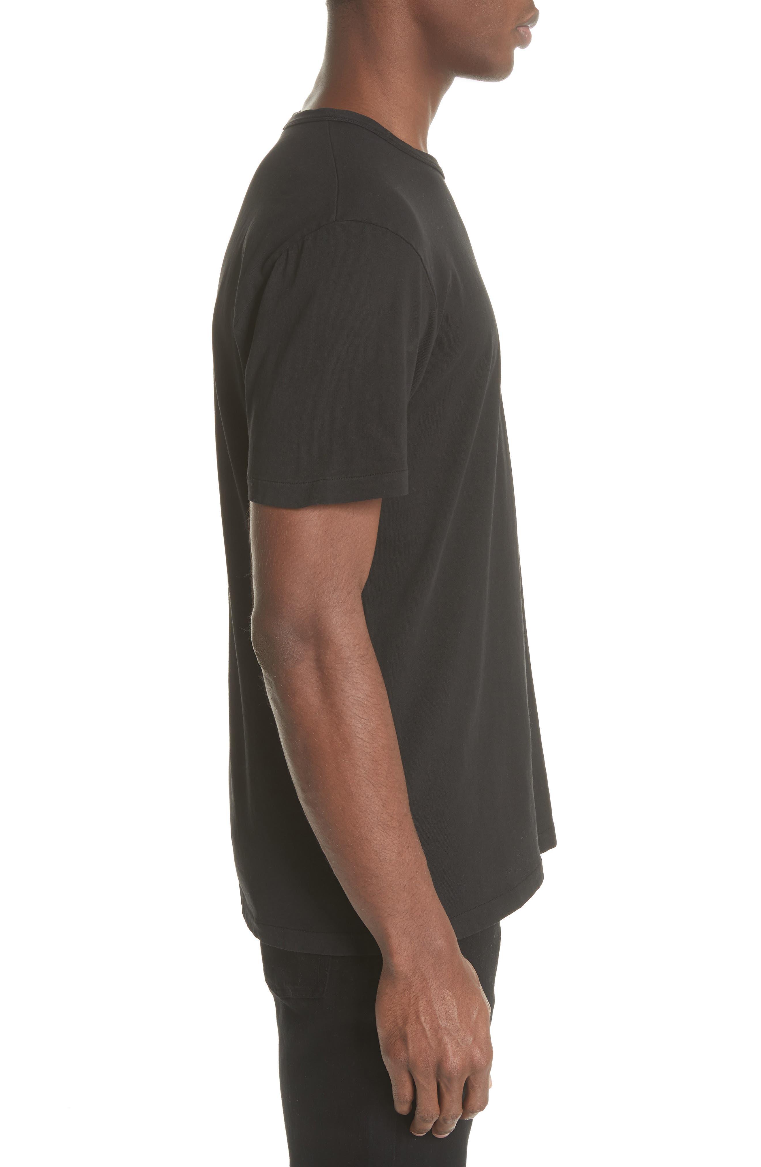 Perfect T-Shirt,                             Alternate thumbnail 3, color,                             Black