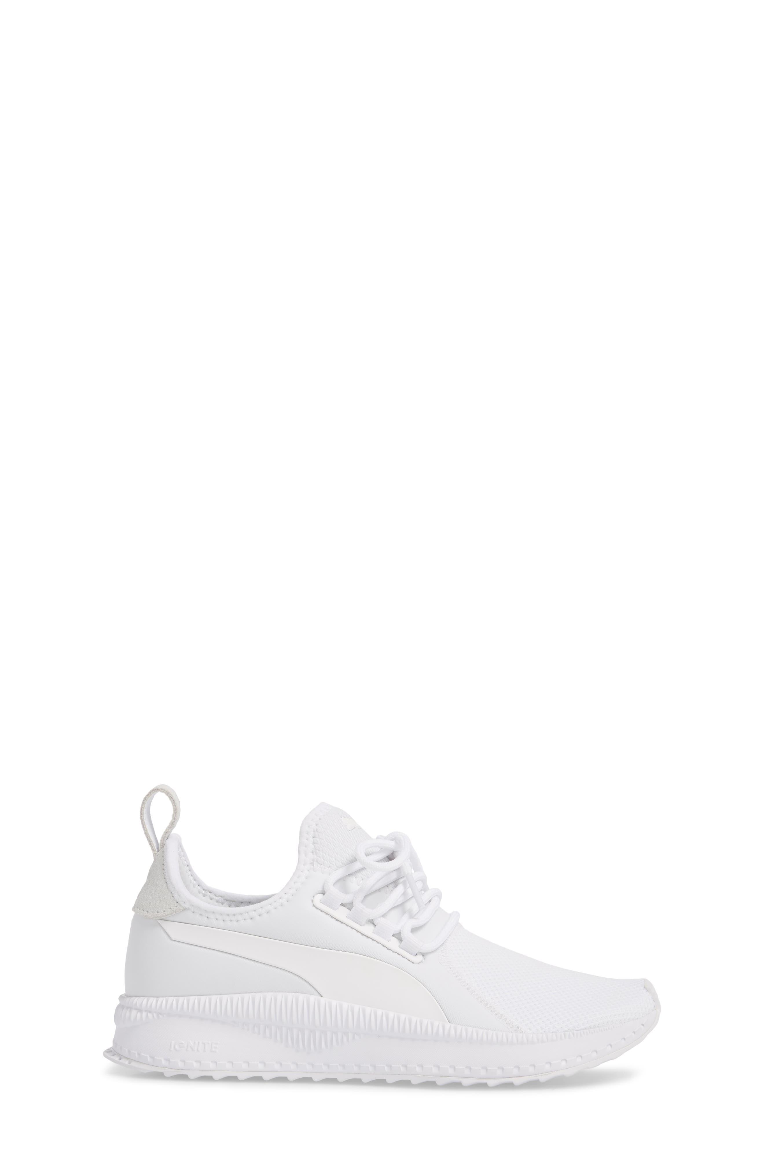 Tsugi Apex Sneaker,                             Alternate thumbnail 3, color,                             White/ White