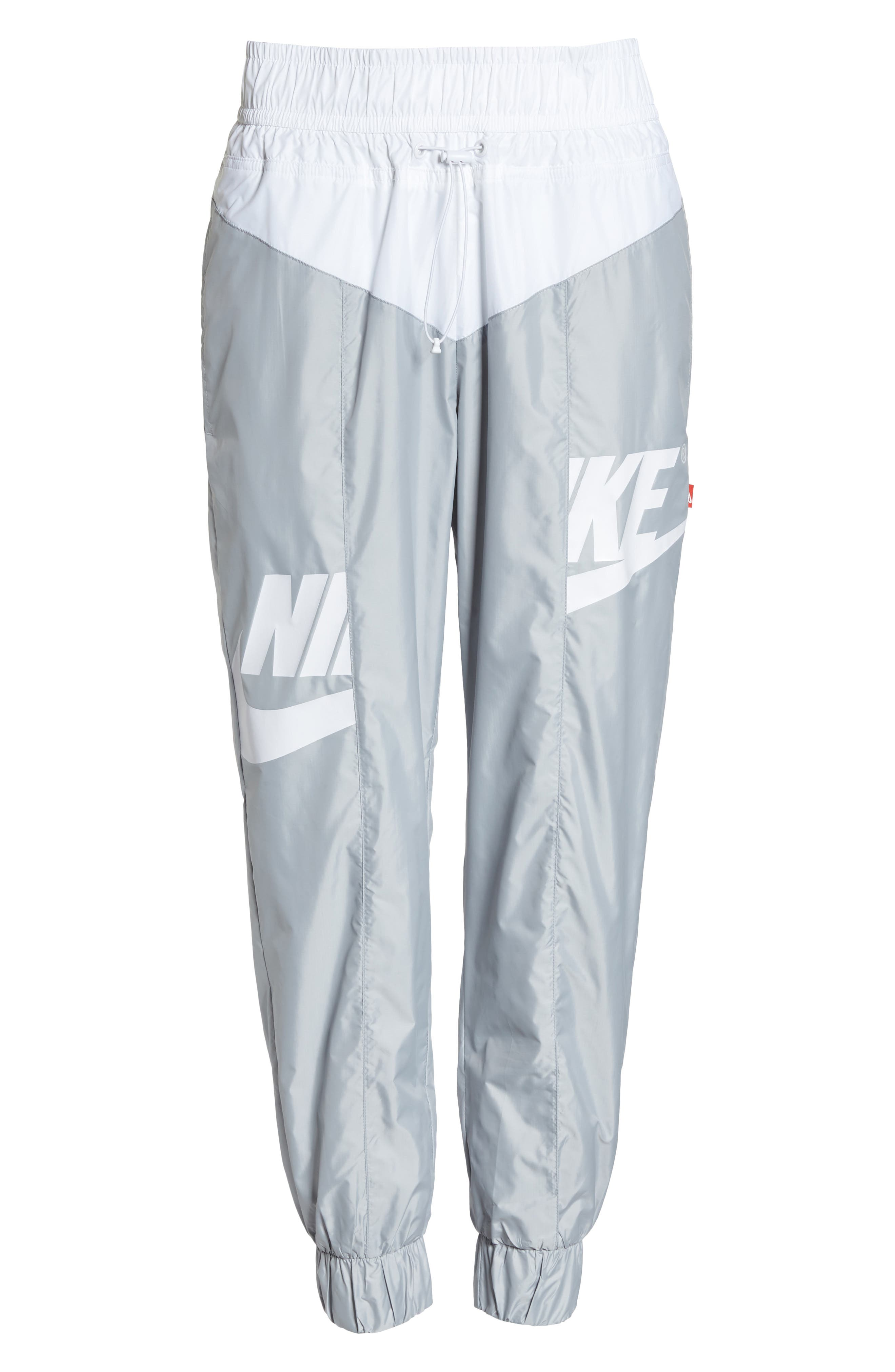 Sportswear Windrunner pants,                             Alternate thumbnail 7, color,                             Wolf Grey/ Summit White