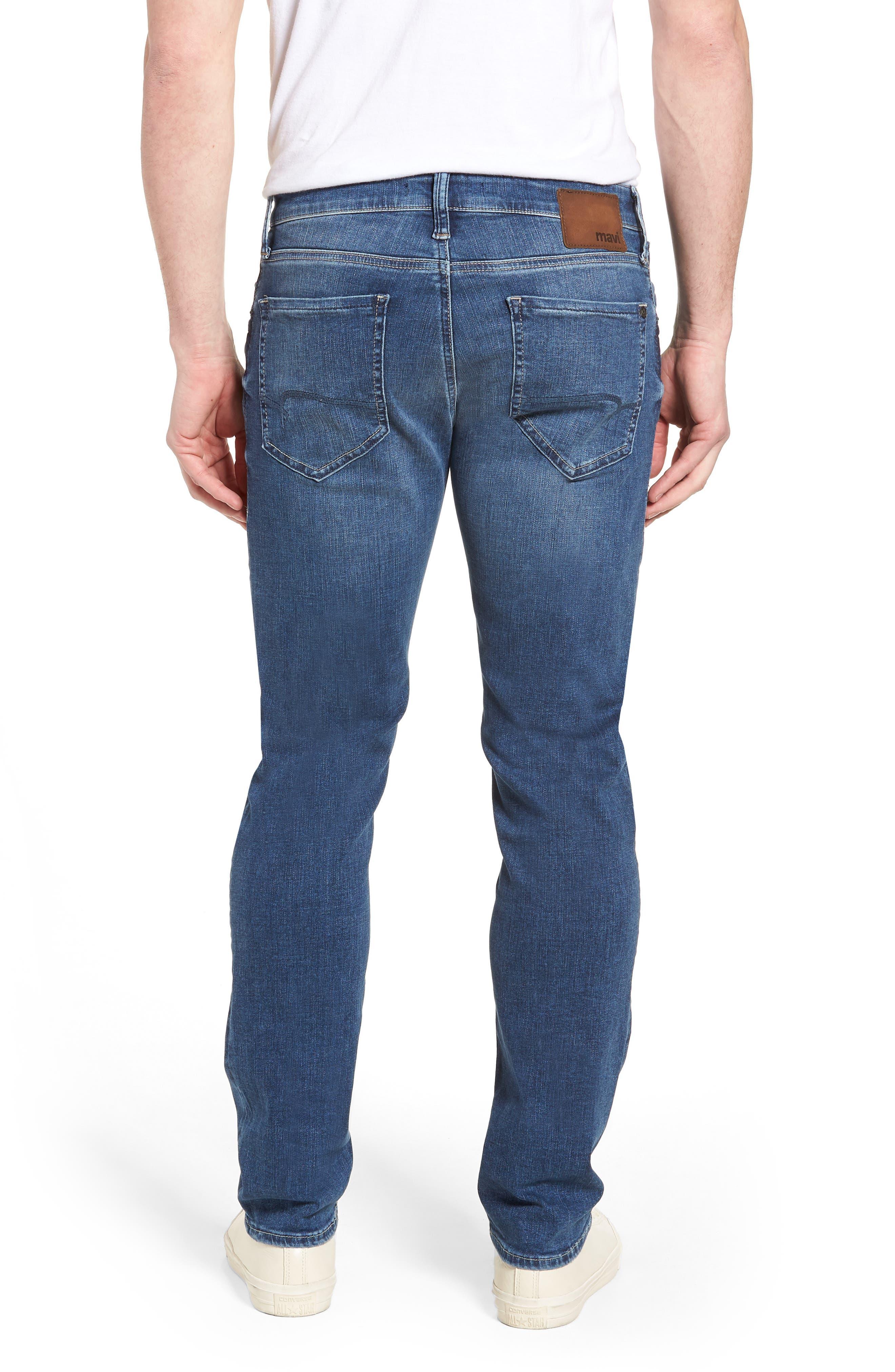 Zach Straight Leg Jeans,                             Alternate thumbnail 2, color,                             Indigo Cashmere