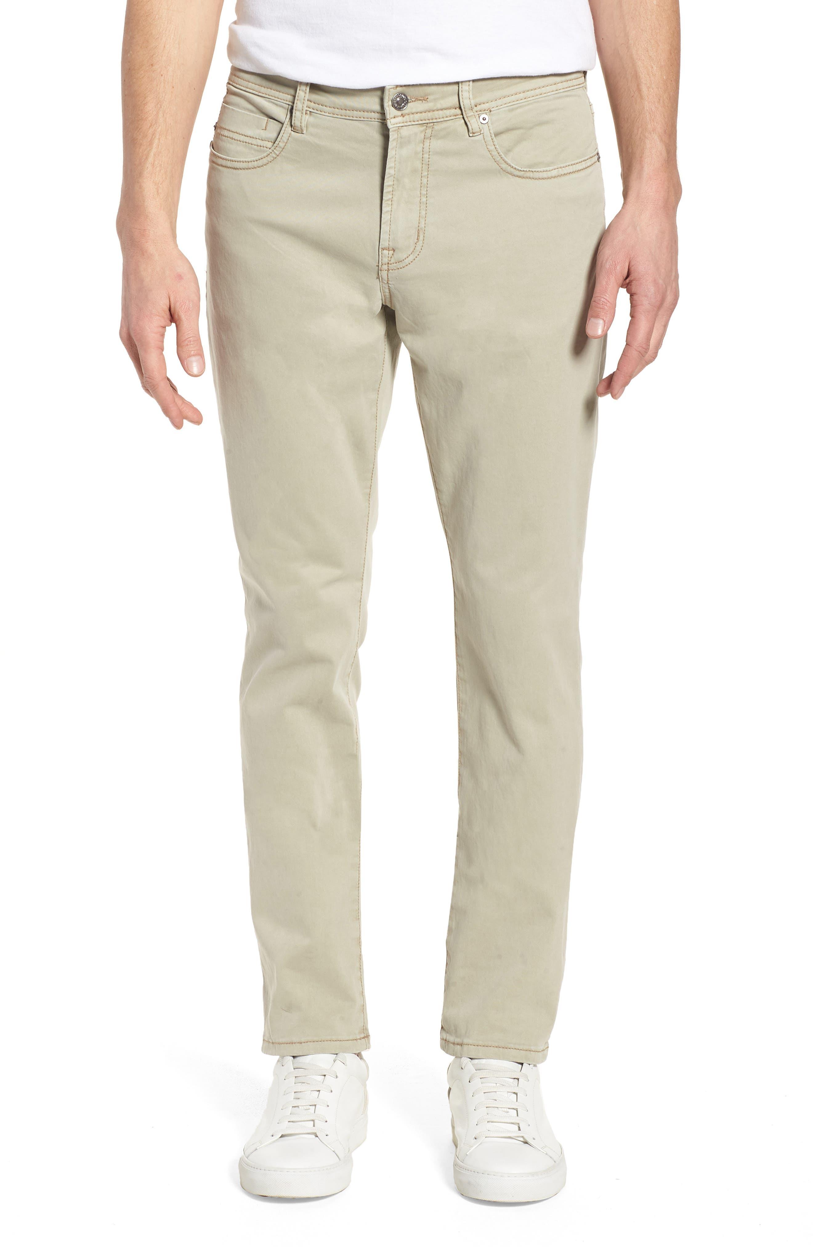 Liverpool Jeans Co. Slim Straight Leg Jeans (Sandstorm)