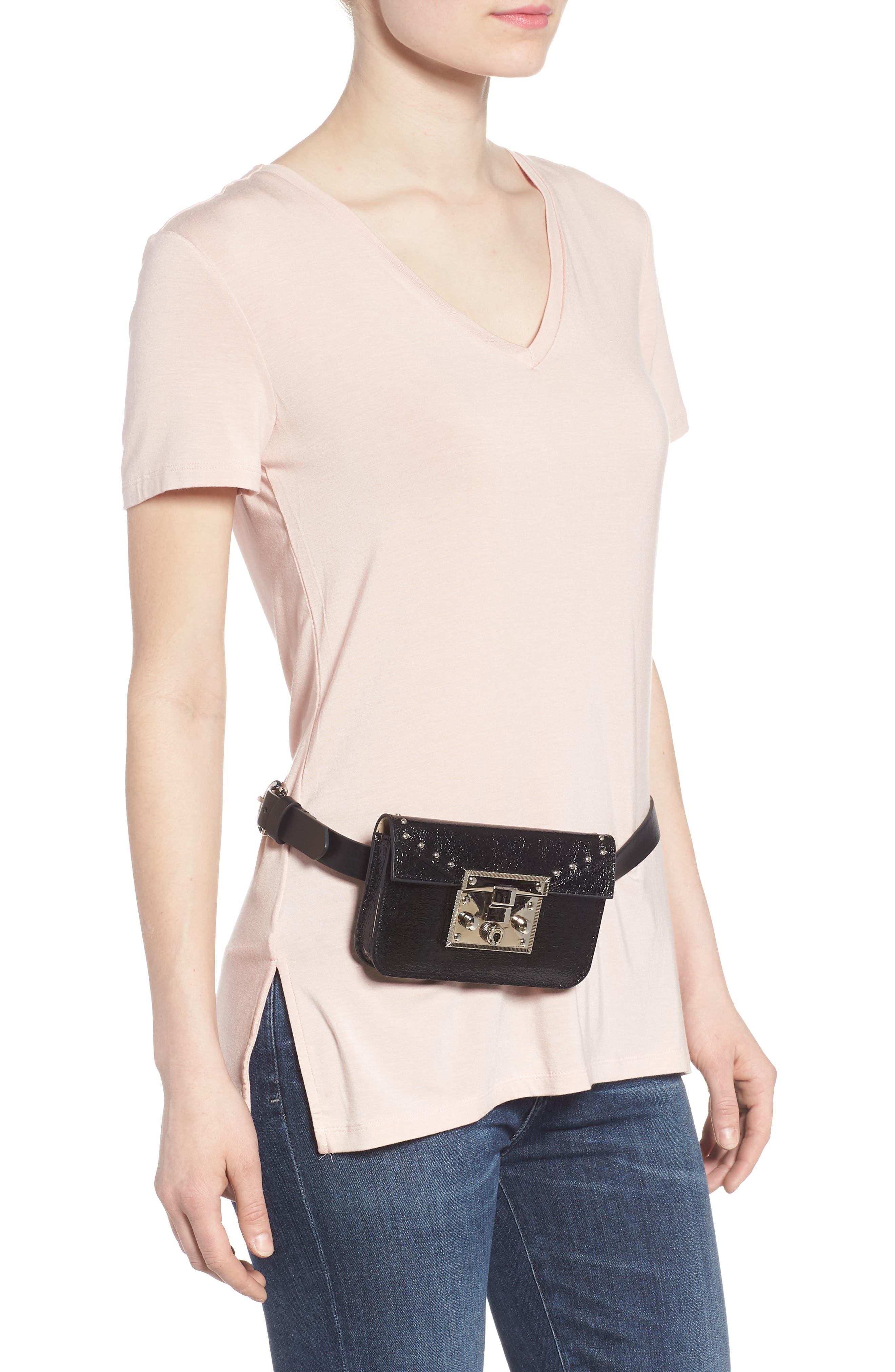Alternate Image 3  - Steve Madden Hardware Belt Bag