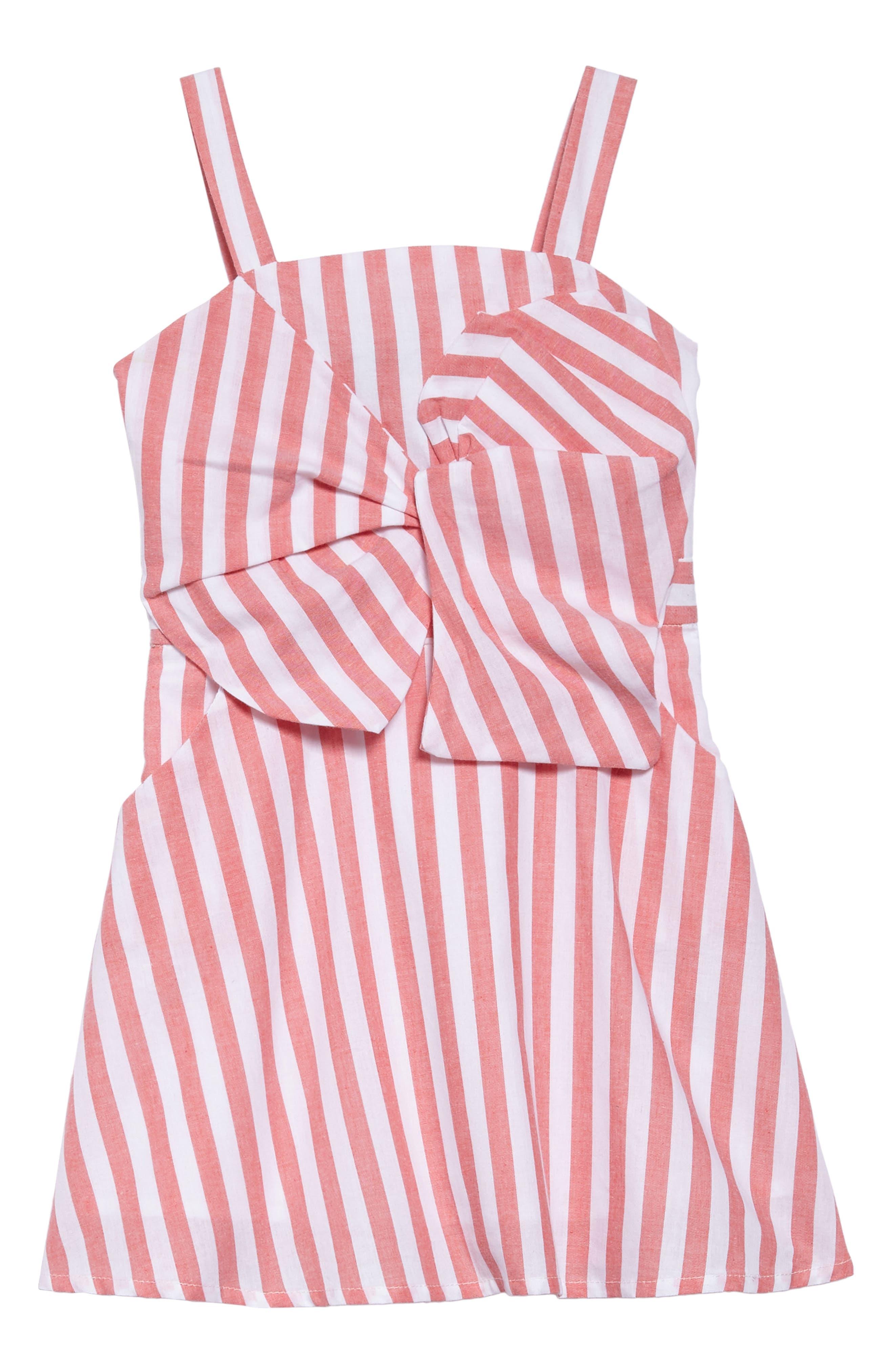 Alternate Image 1 Selected - Bardot Junior Mable Stripe Dress (Toddler Girls & Little Girls)