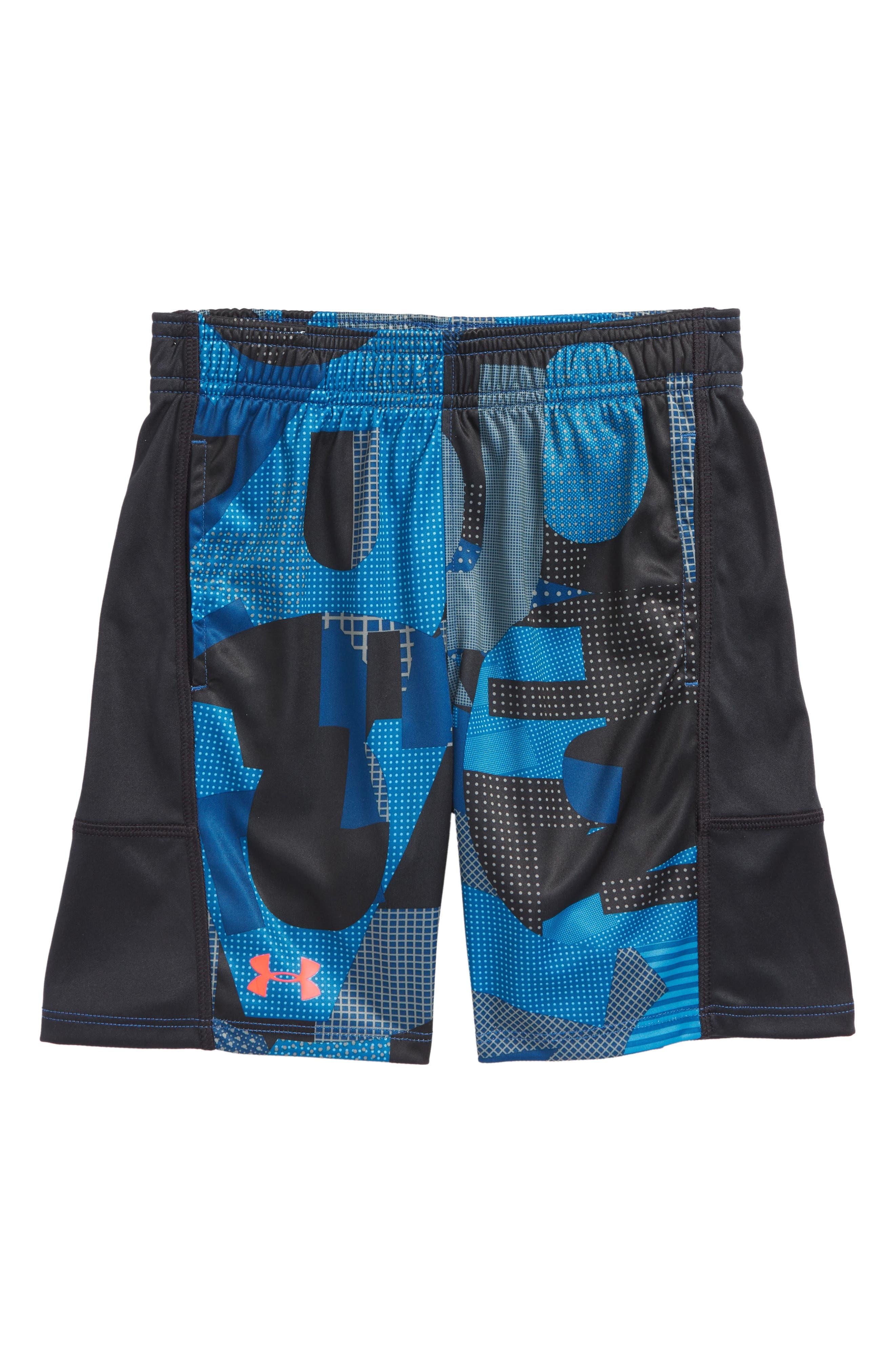 Alpha Stunt Shorts,                         Main,                         color, Moroccan Blue