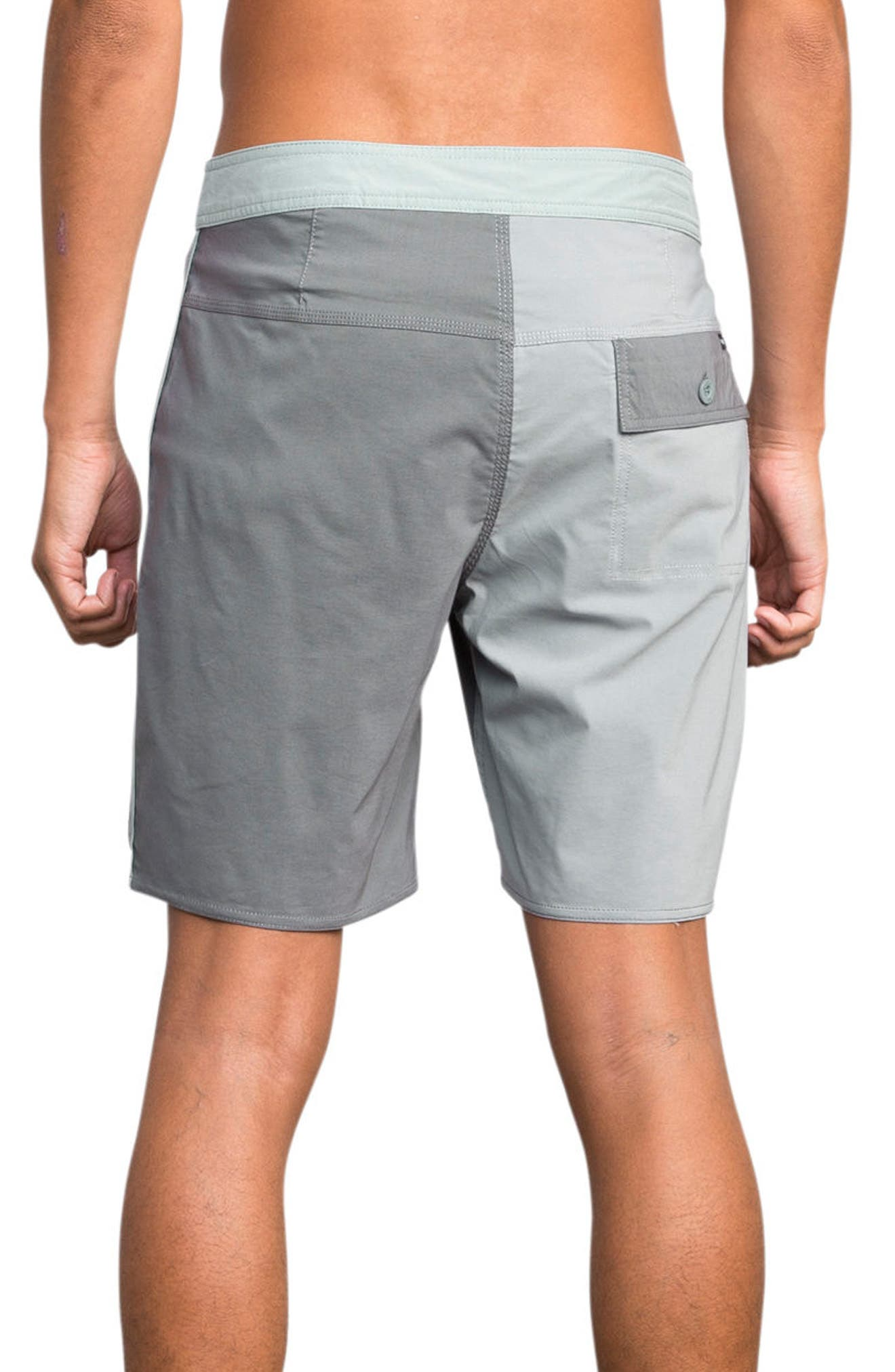 Smooth Like RVCA Board Shorts,                             Alternate thumbnail 2, color,                             Monument