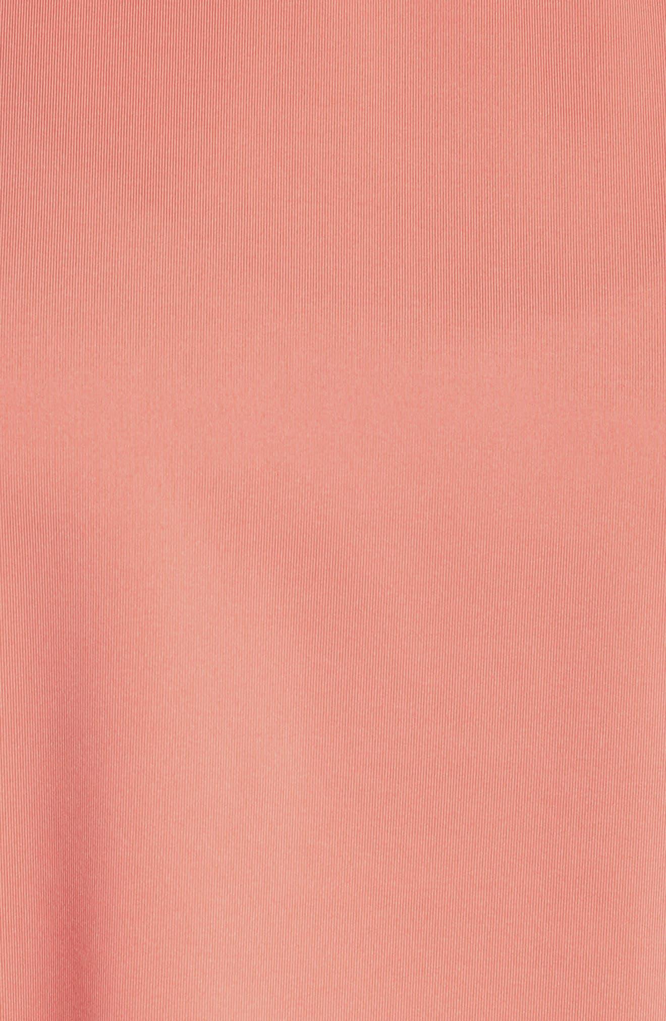 Banda Loose Tee,                             Alternate thumbnail 6, color,                             Pink Dk. Peach/ White