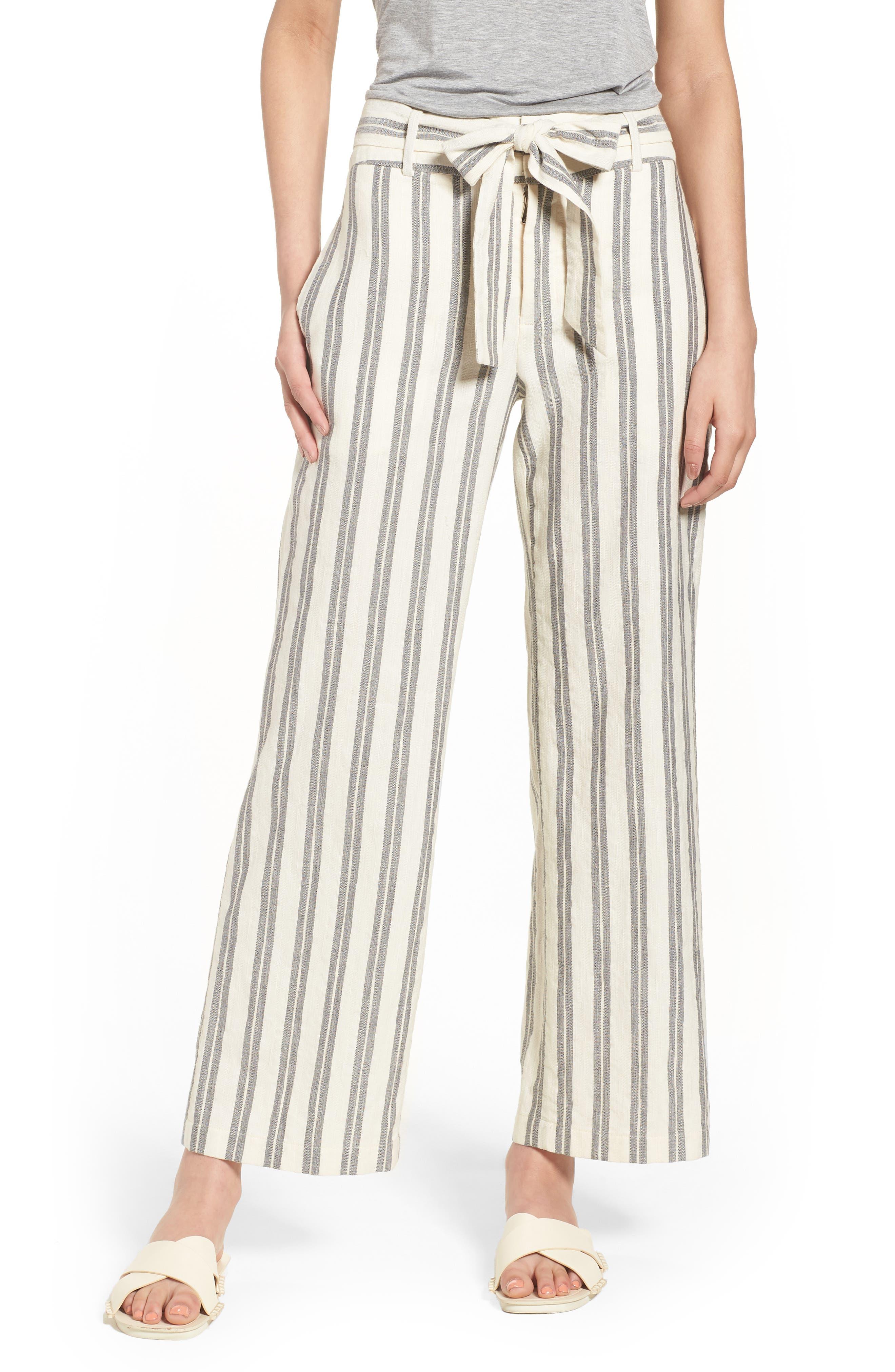 Molly Pants,                         Main,                         color, White Multi