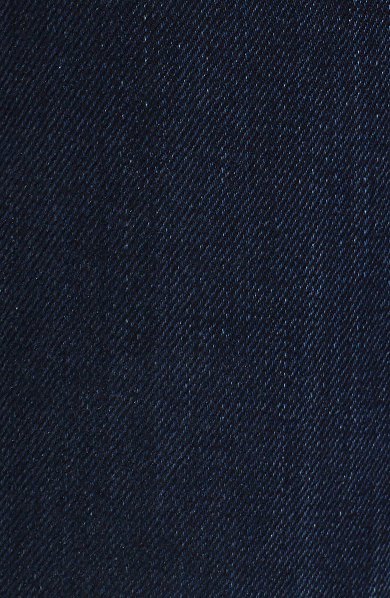 Barbara High Waist Ankle Supermodel Skinny Jeans,                             Alternate thumbnail 6, color,                             Calvary