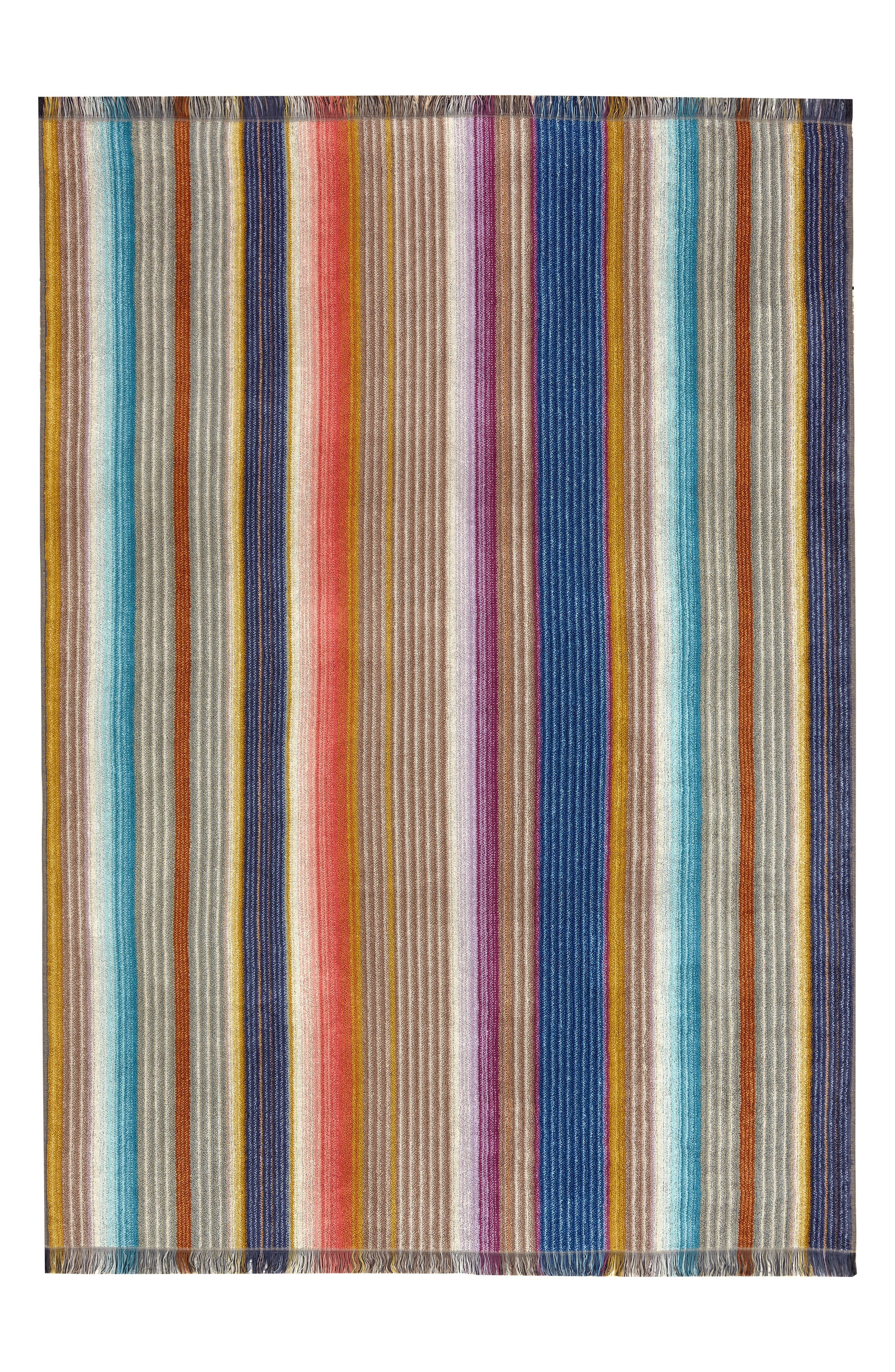 Viviette Bath Sheet,                             Main thumbnail 1, color,                             Taupe Multi