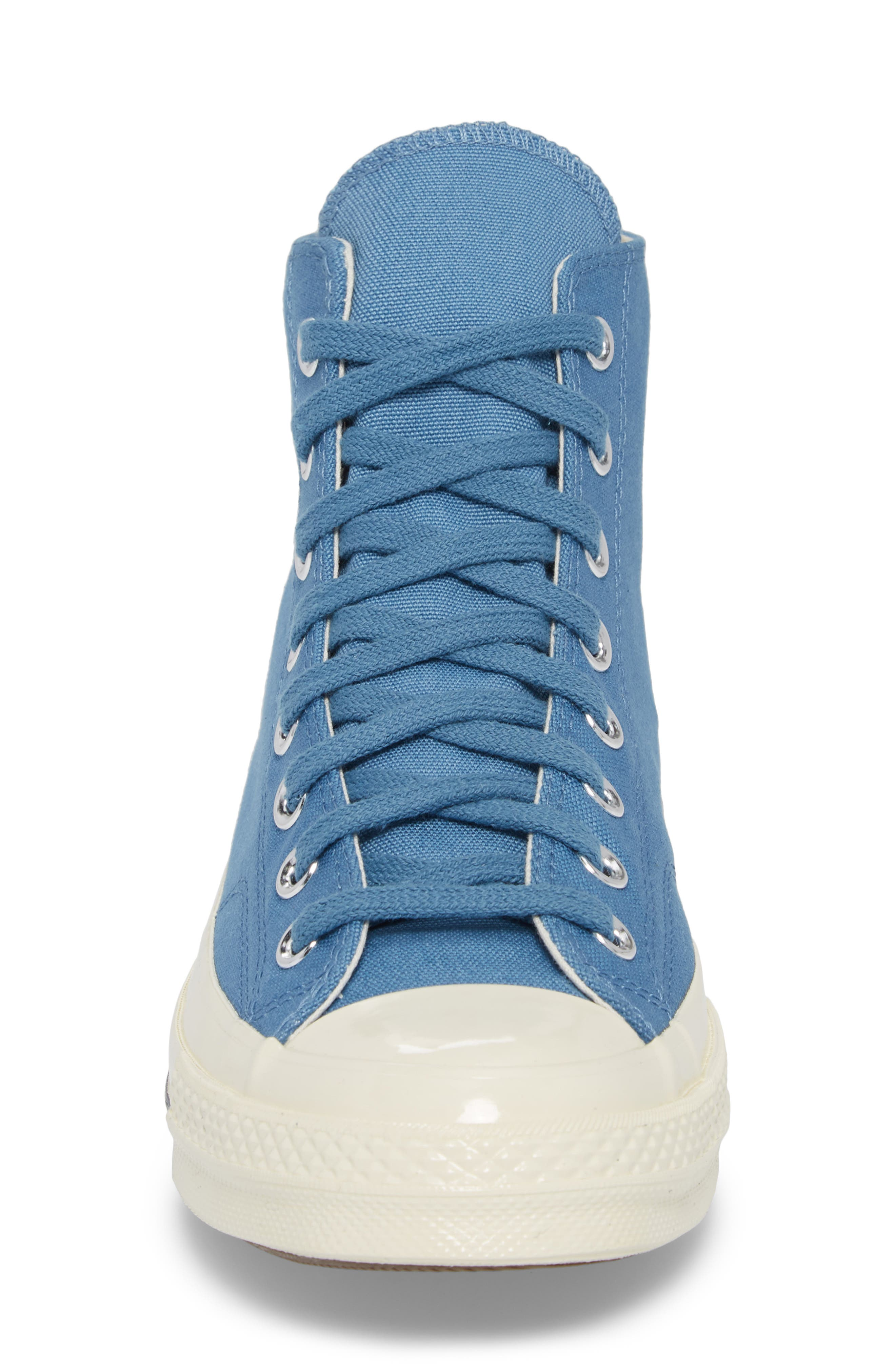 Chuck Taylor<sup>®</sup> All Star<sup>®</sup> '70s Heritage High Top Sneaker,                             Alternate thumbnail 4, color,                             Aegean Storm
