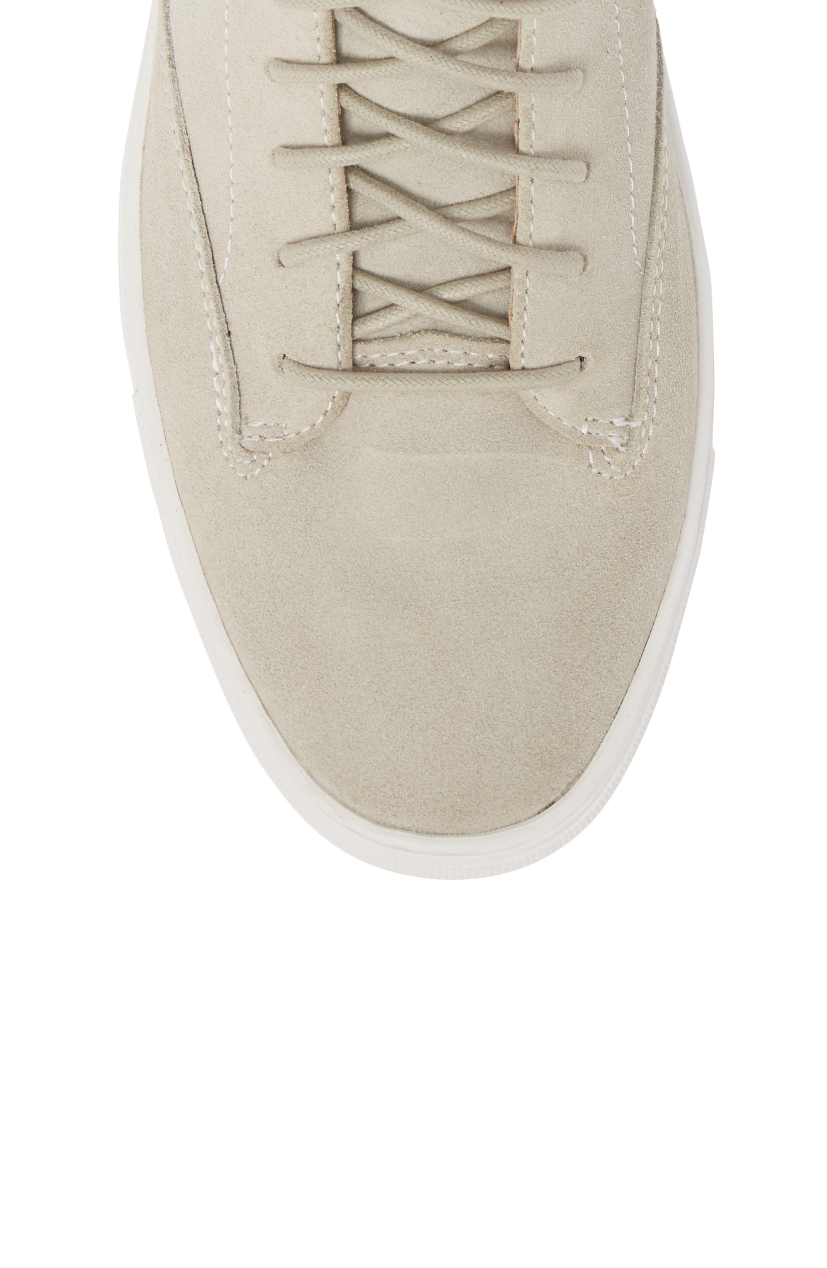 'Porter' High Top Sneaker,                             Alternate thumbnail 5, color,                             Quartz Leather