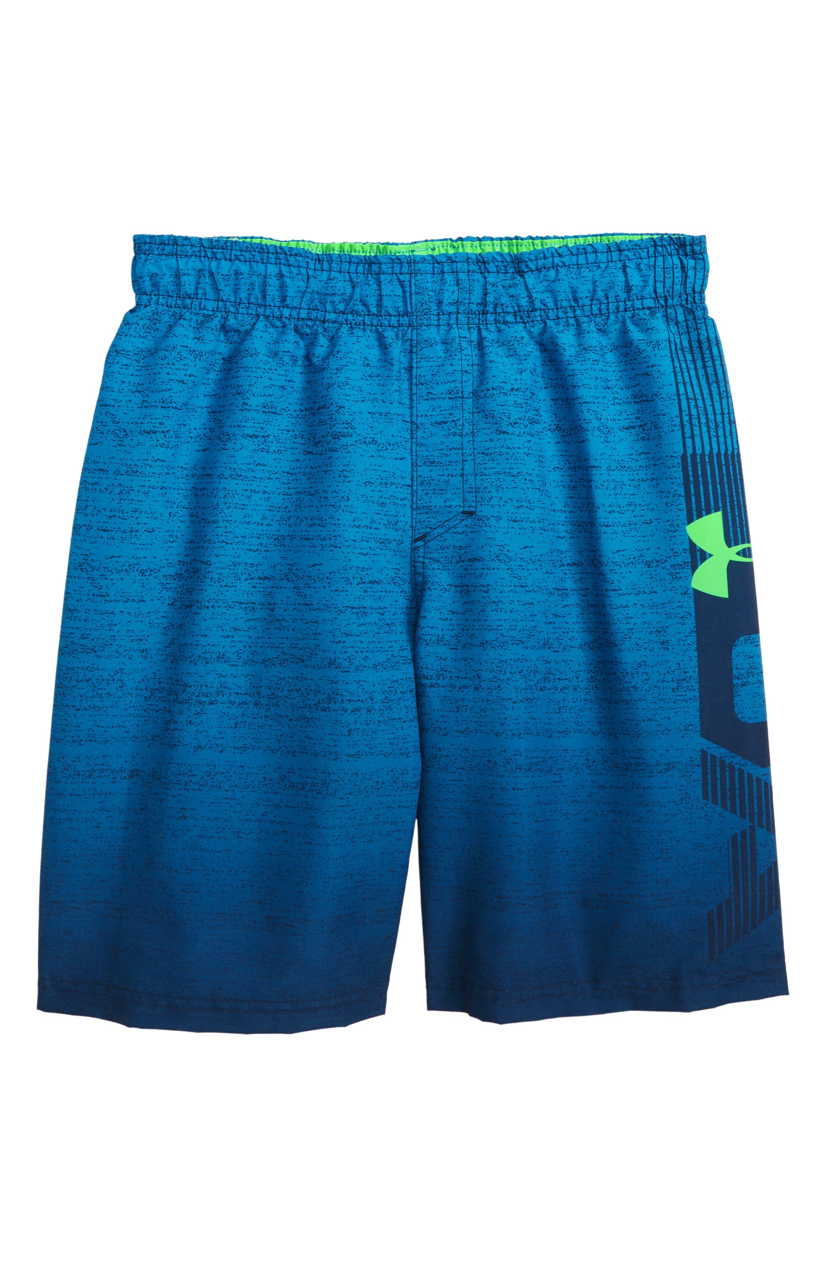 Dipper HeatGear<sup>®</sup> Volley Shorts,                             Main thumbnail 1, color,                             Academy