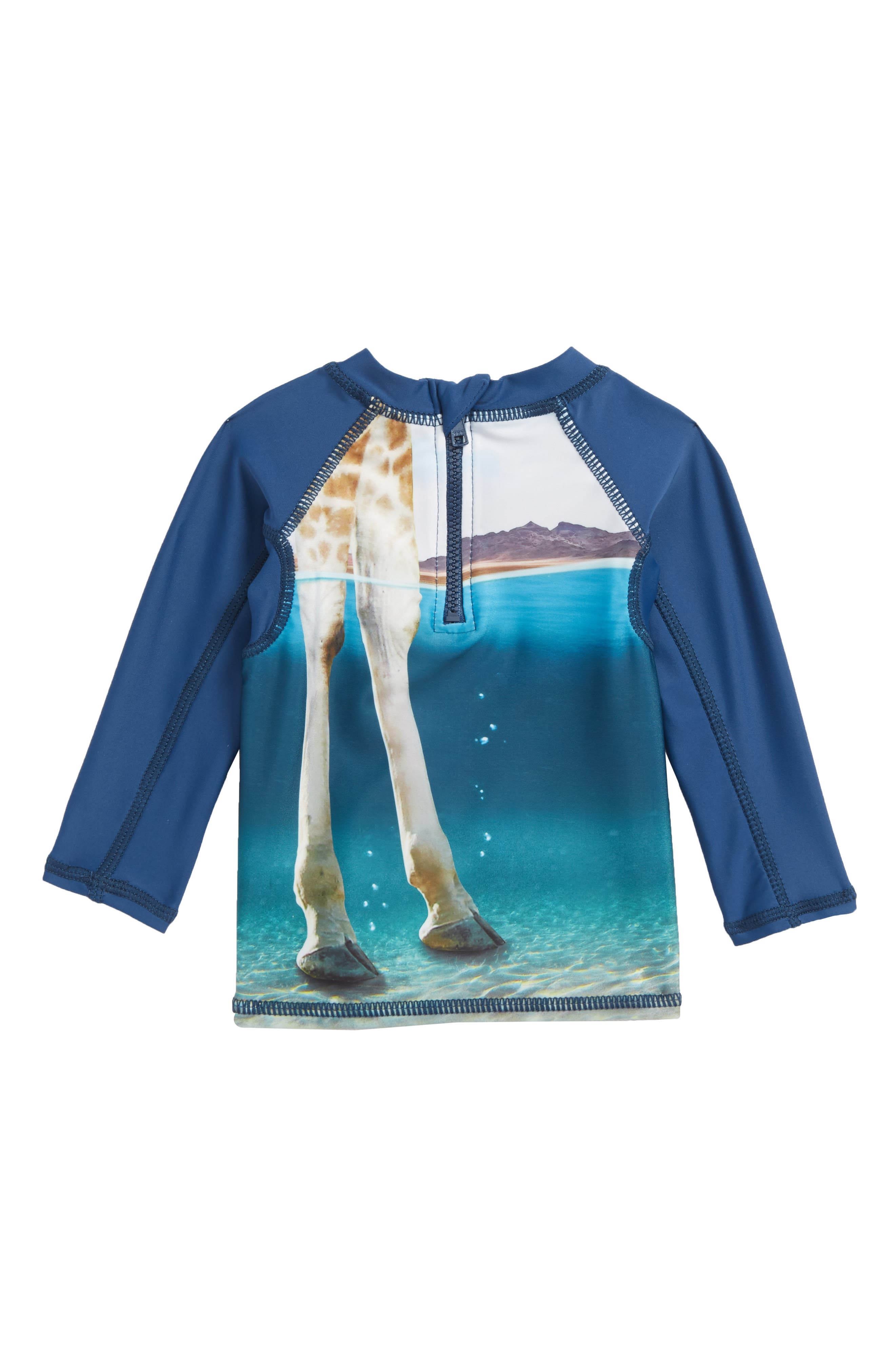 Nemo Rashguard,                             Alternate thumbnail 2, color,                             Giraffe