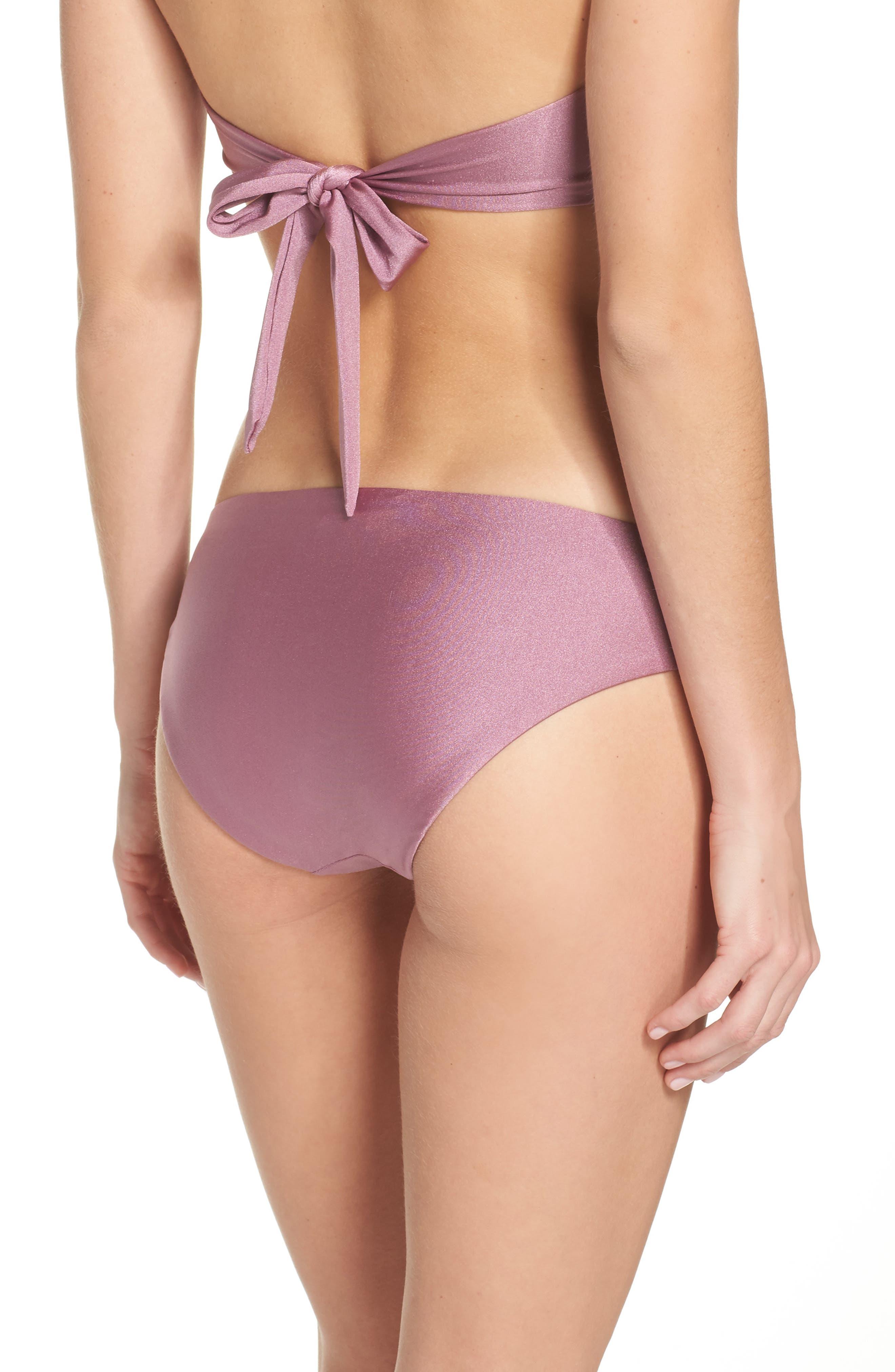 Ballerina Bikini Bottoms,                             Alternate thumbnail 2, color,                             Mauve
