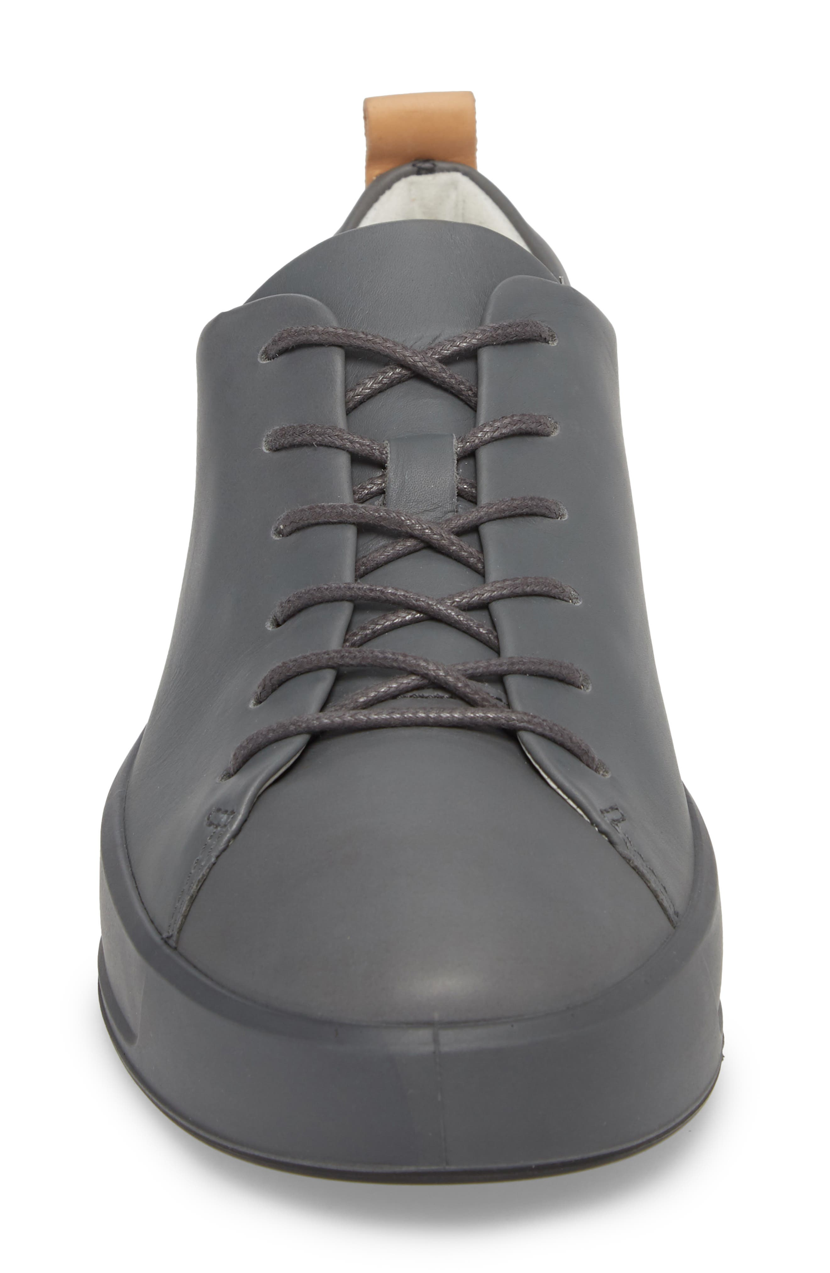 Soft 8 Low Top Sneaker,                             Alternate thumbnail 4, color,                             Urban Grey Leather