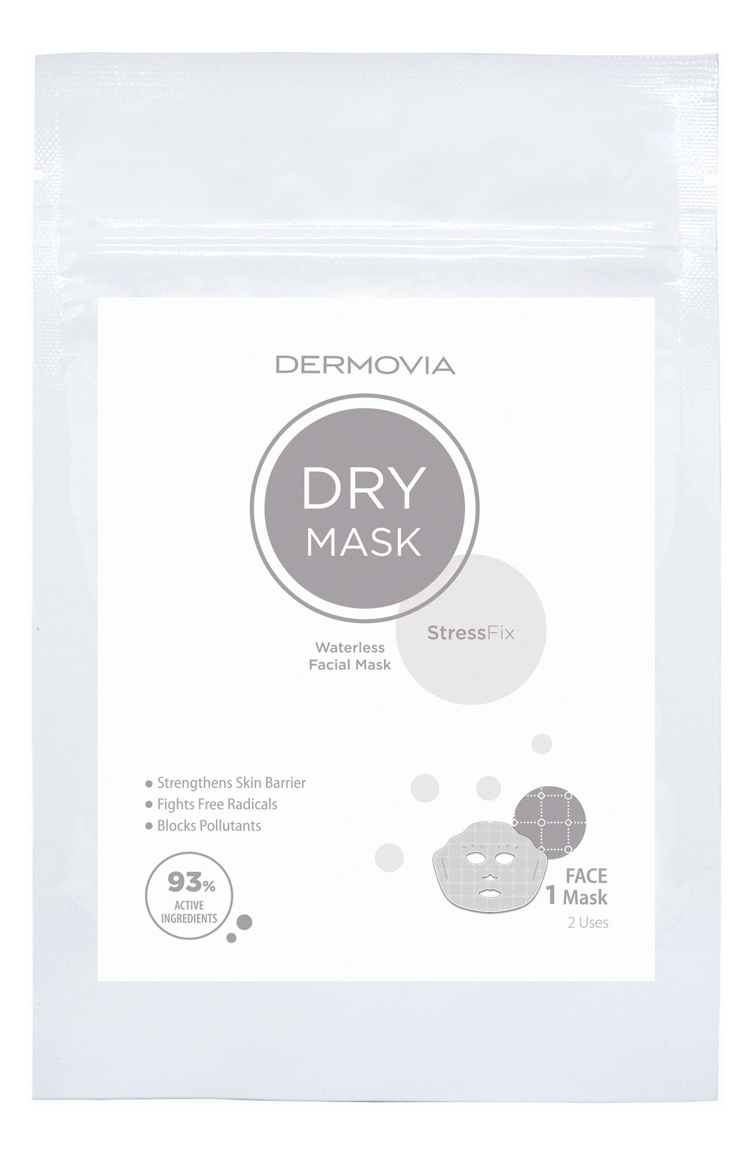 DRY Mask StressFix Waterless Facial Mask,                             Main thumbnail 1, color,                             No Color
