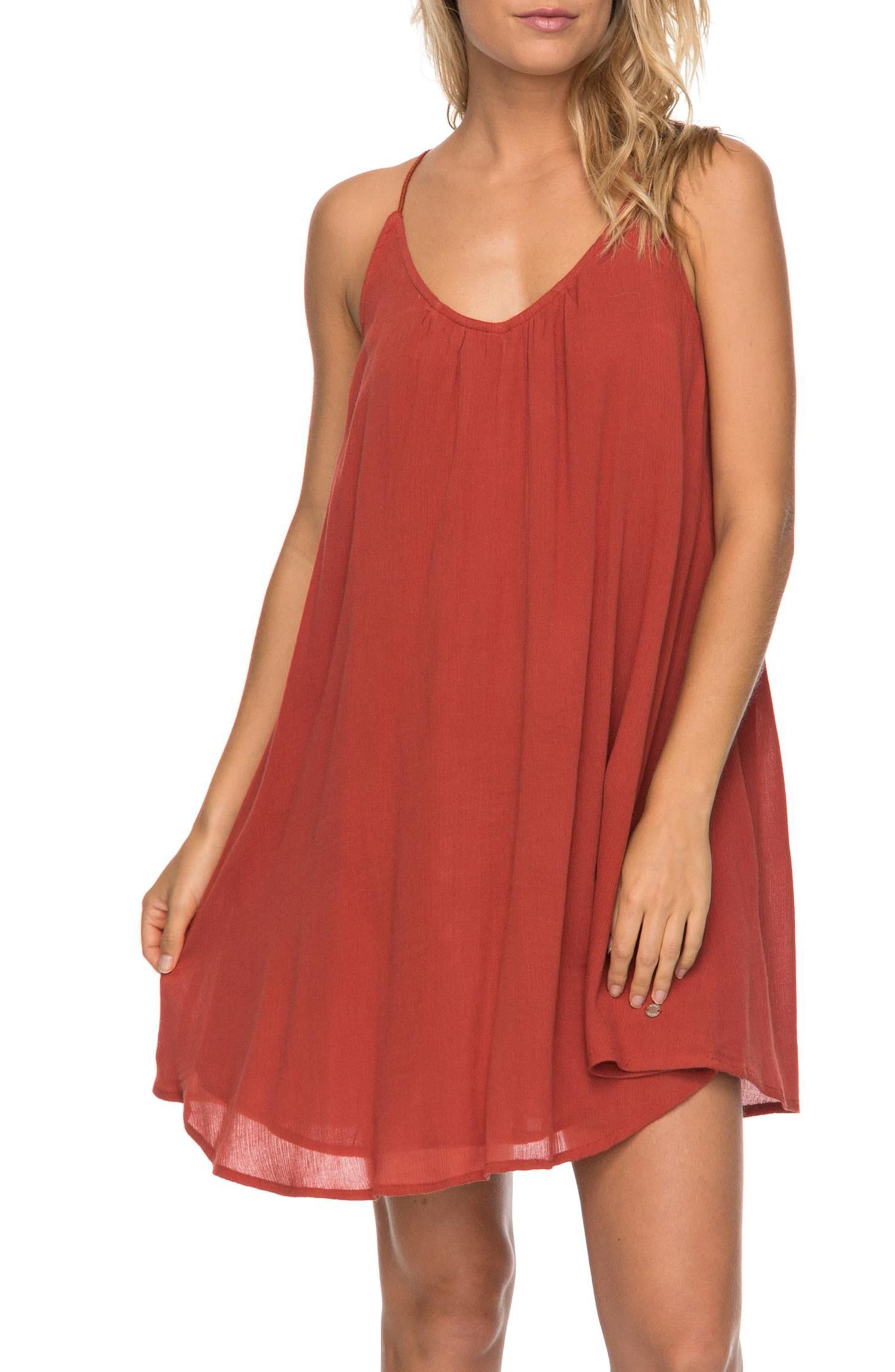 Great Intentions Trapeze Dress,                             Main thumbnail 1, color,                             Tandoori Spice