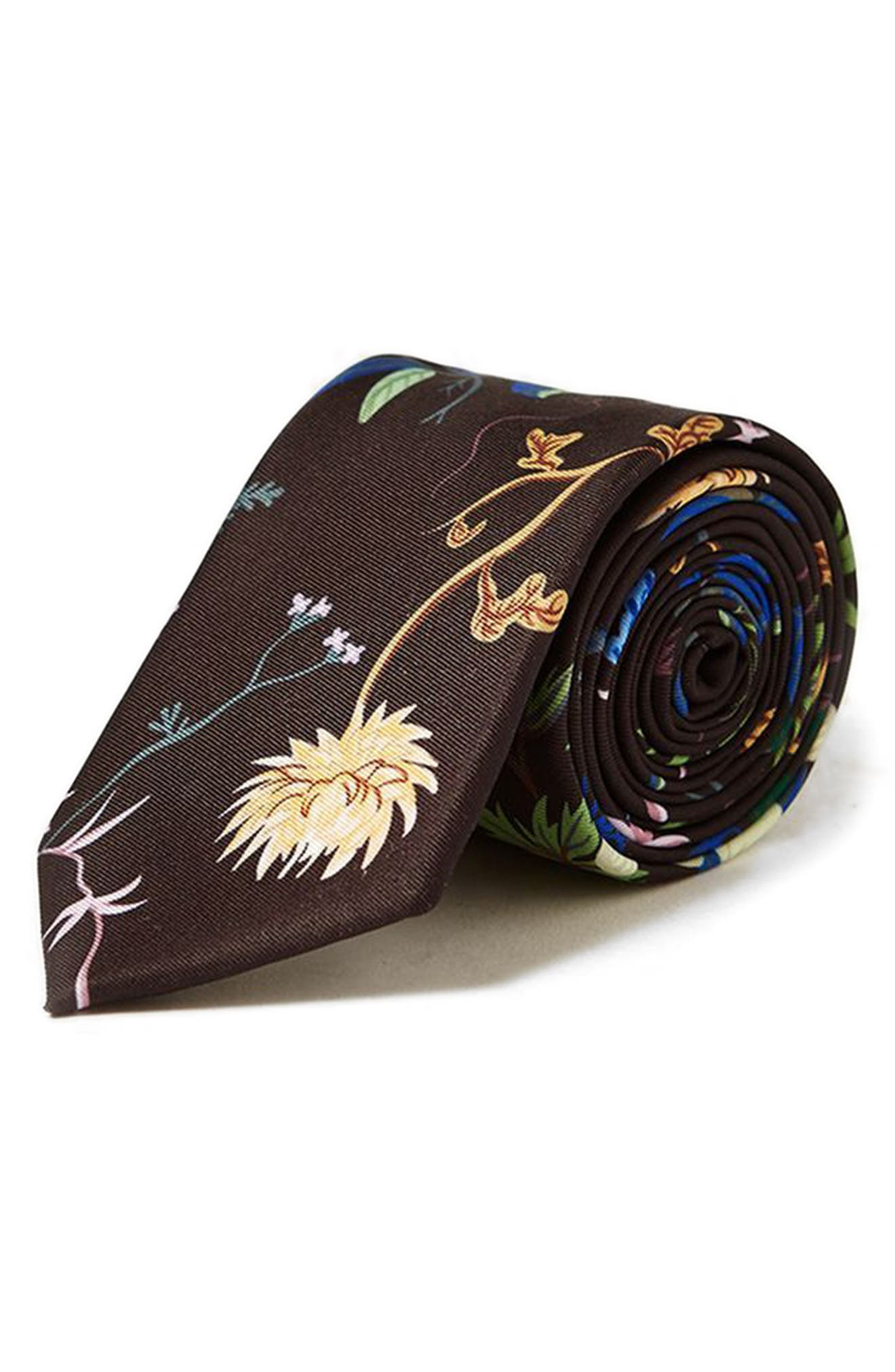Alternate Image 1 Selected - Topman Floral Tie