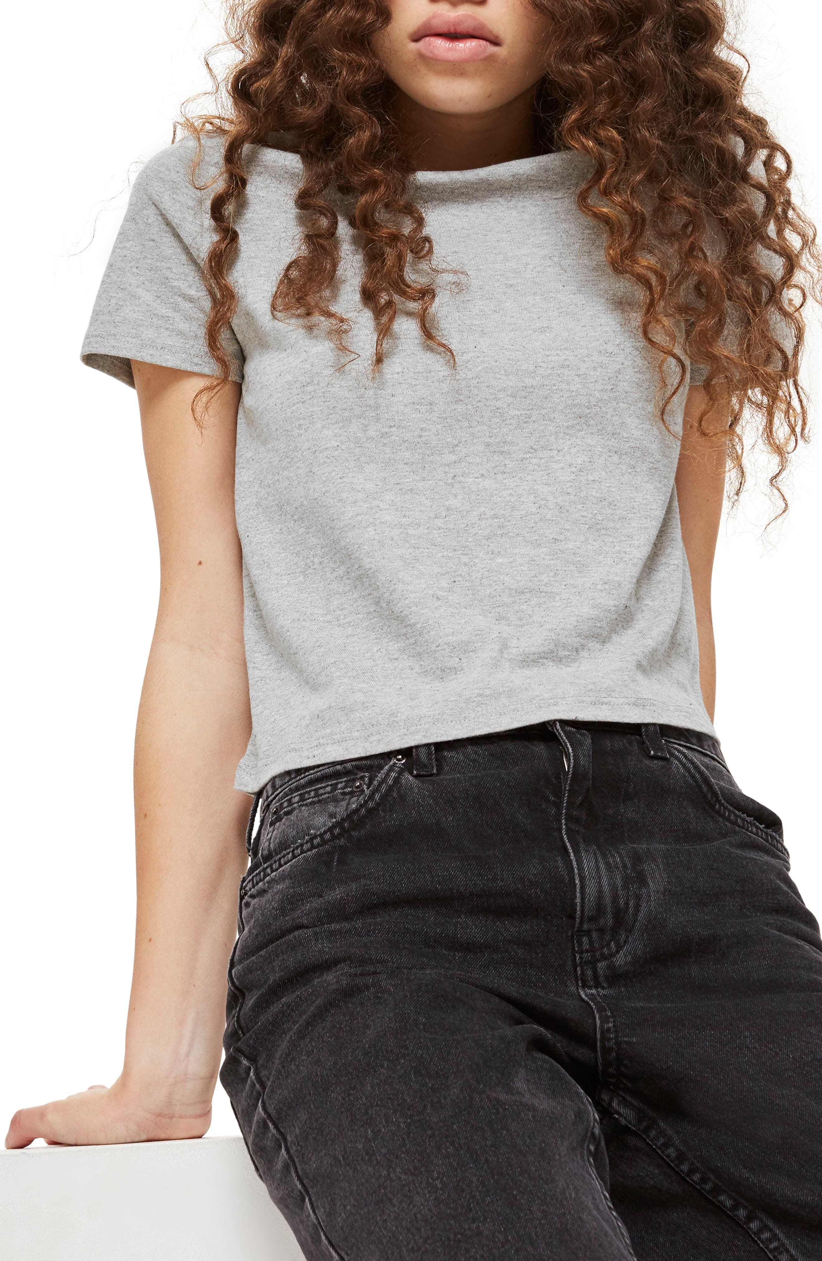 Topshop Basic Crop T-Shirt (2 for $18)
