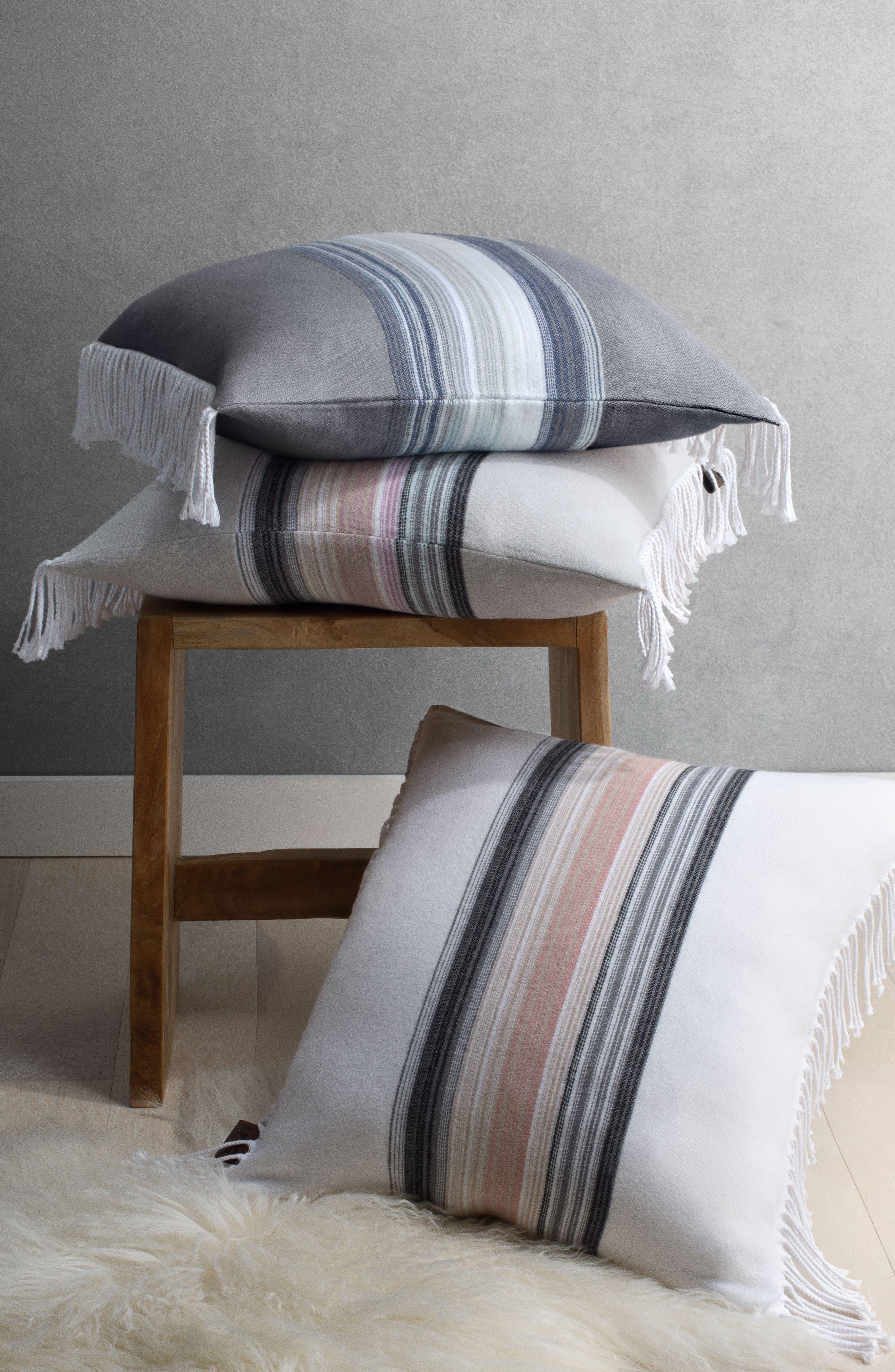 Amari Stripe Accent Pillow,                             Alternate thumbnail 2, color,