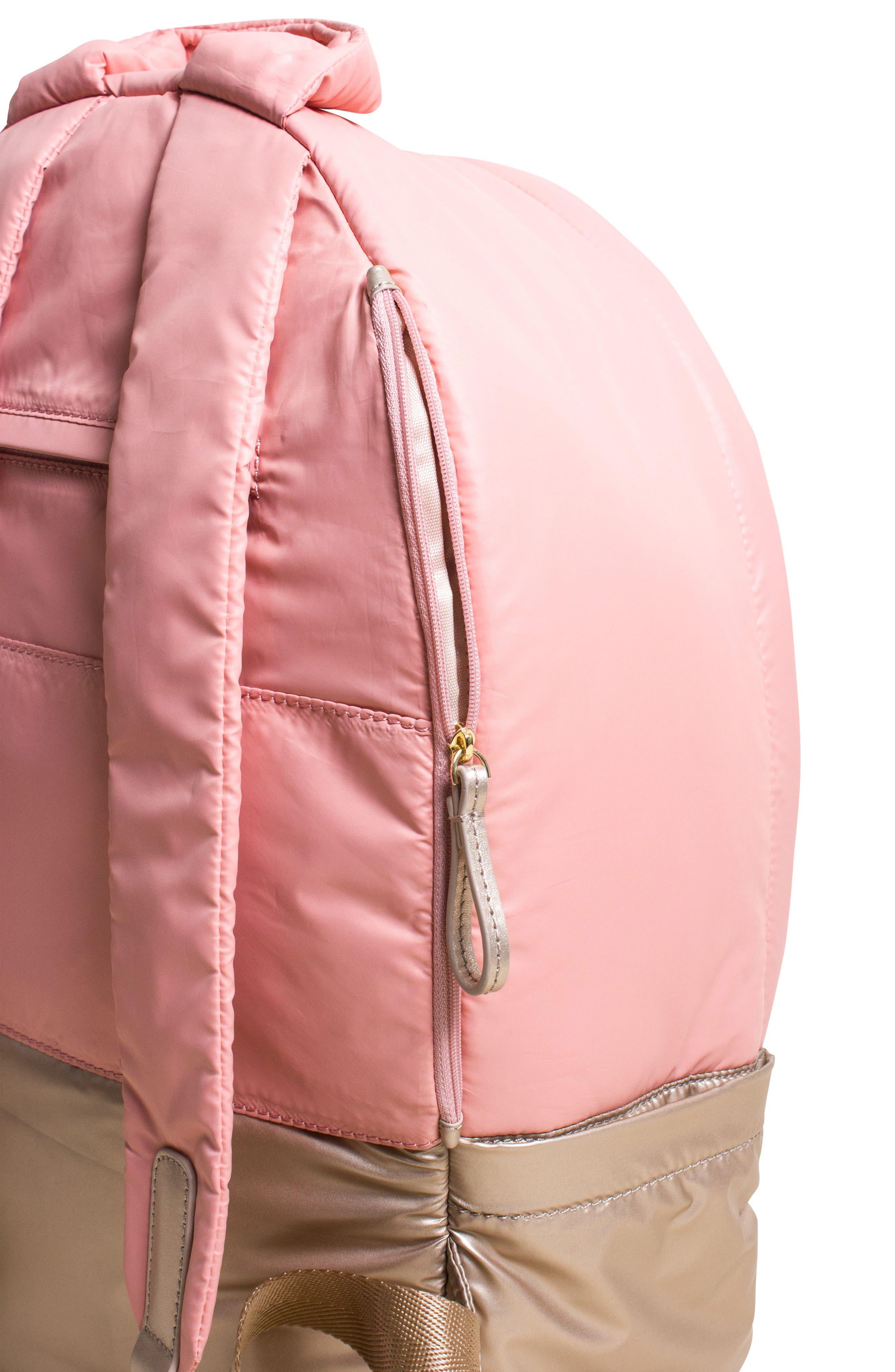 Stratus Waterproof Backpack,                             Alternate thumbnail 6, color,                             Pink