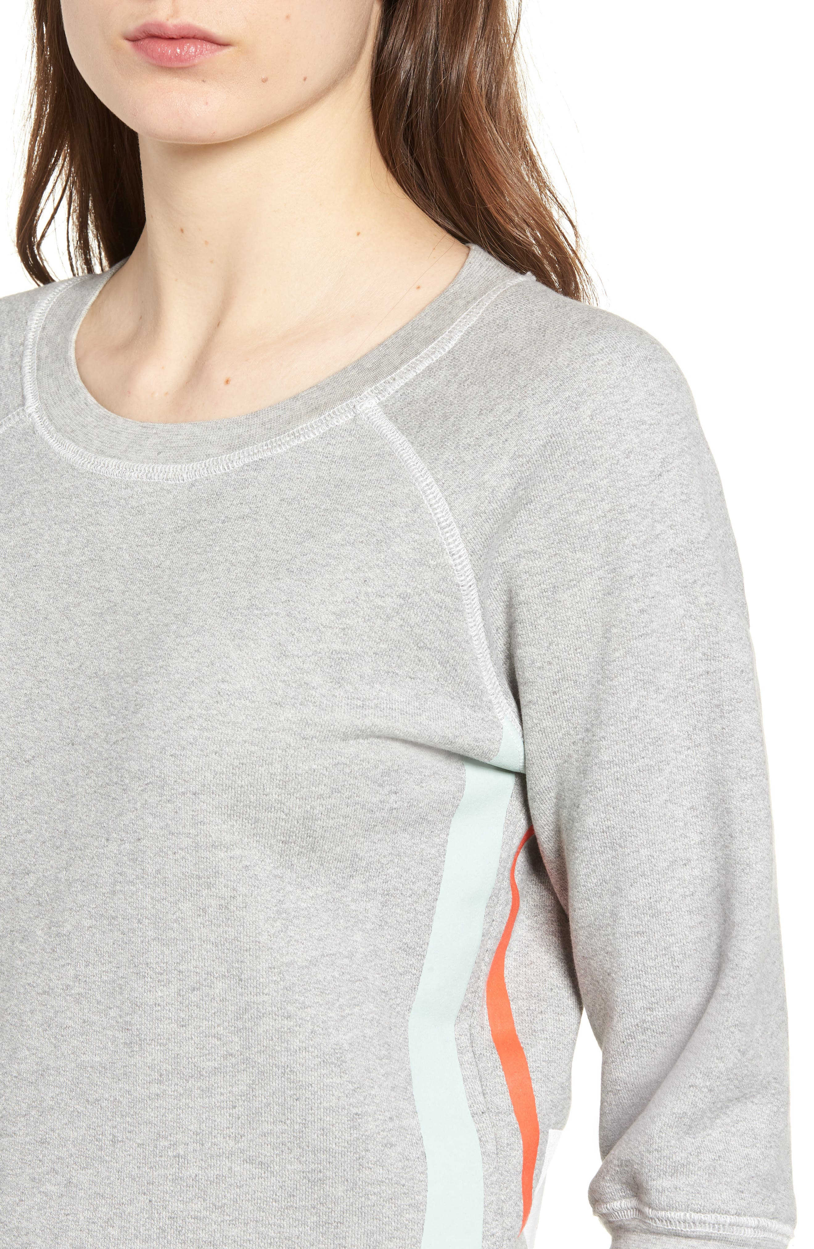 The Dallas Sweatshirt,                             Alternate thumbnail 4, color,                             Heather Grey Fleece