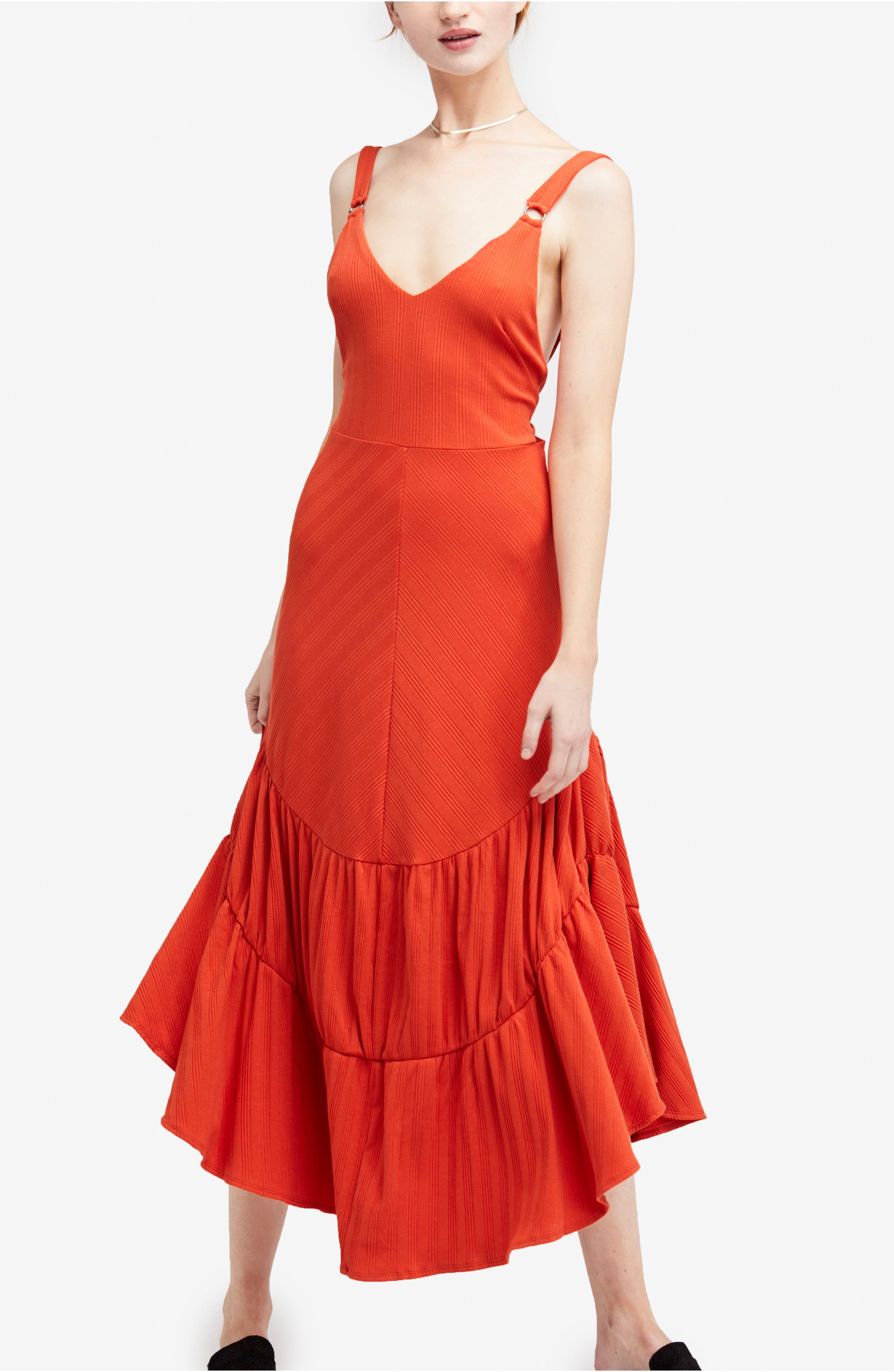 Into You Maxi,                             Main thumbnail 1, color,                             Red
