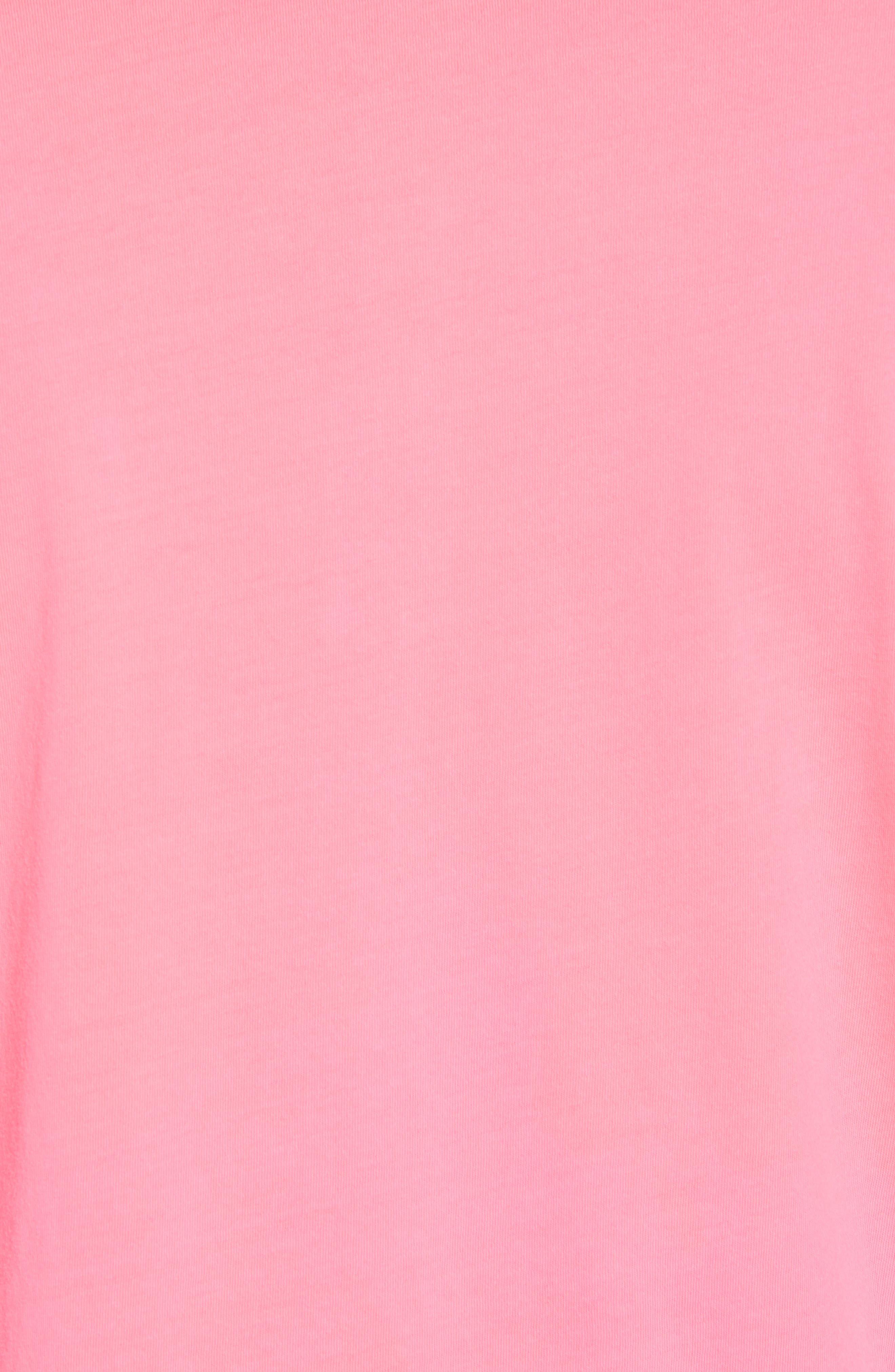 Original Regular Fit Garment Dyed Polo,                             Alternate thumbnail 5, color,                             Neon Pink
