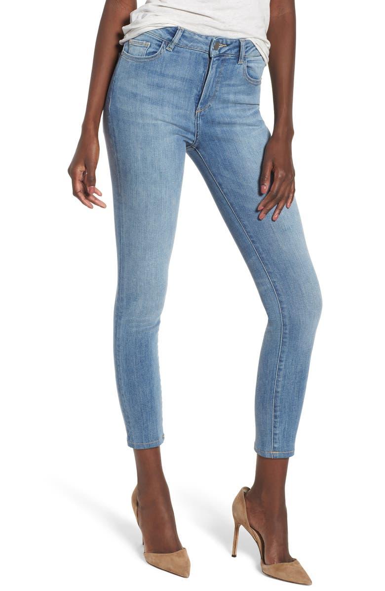 Farrow Instaslim High Waist Ankle Skinny Jeans