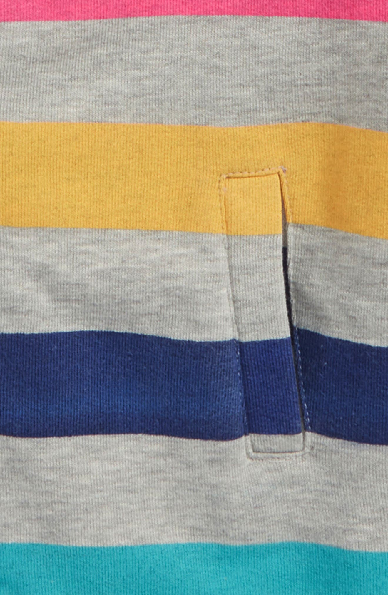 Stripe Hoodie,                             Alternate thumbnail 2, color,                             Blue