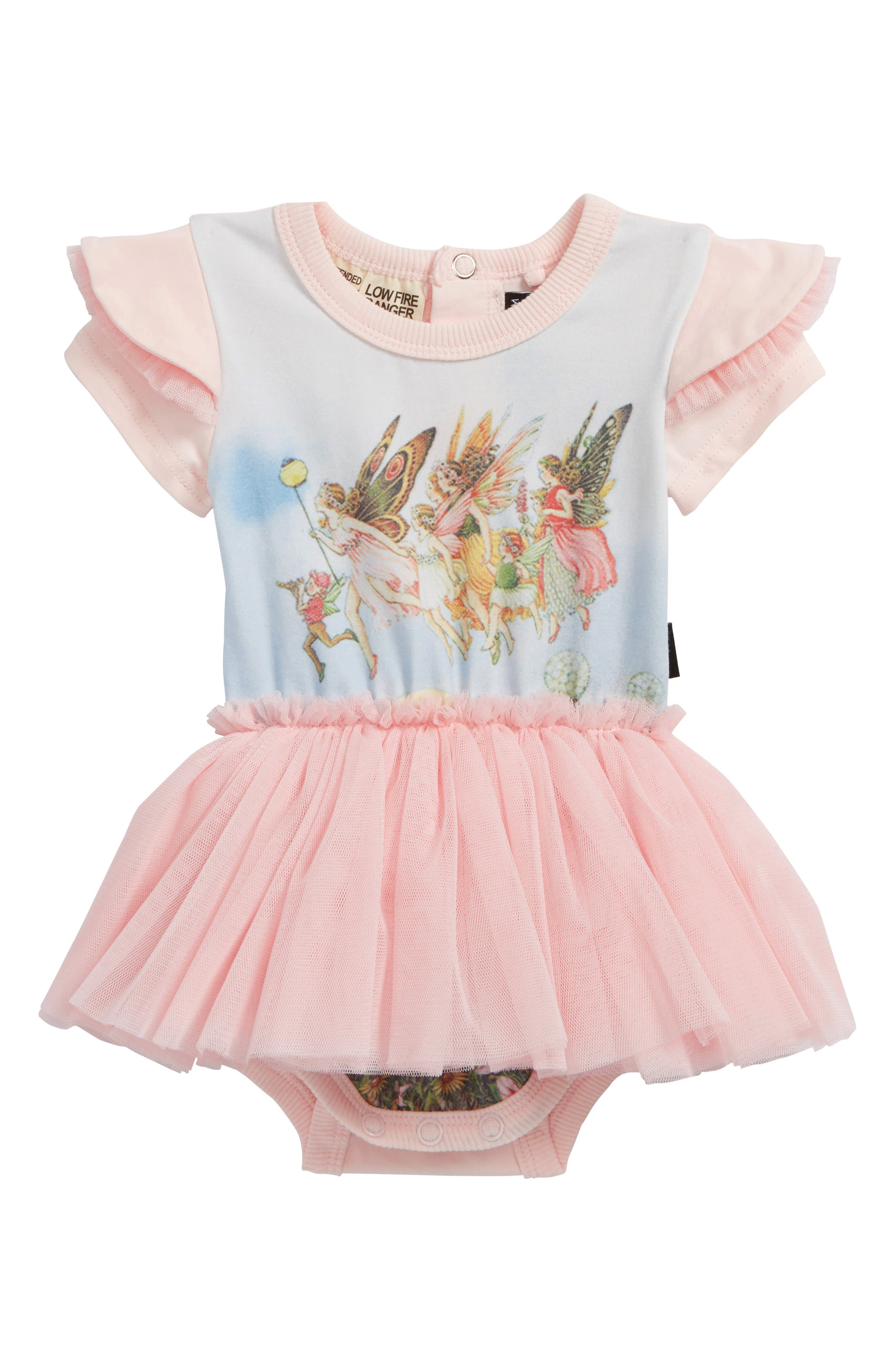 Rock Your Baby Moonlight Fairies Circus Bodysuit Dress (Baby Girls)