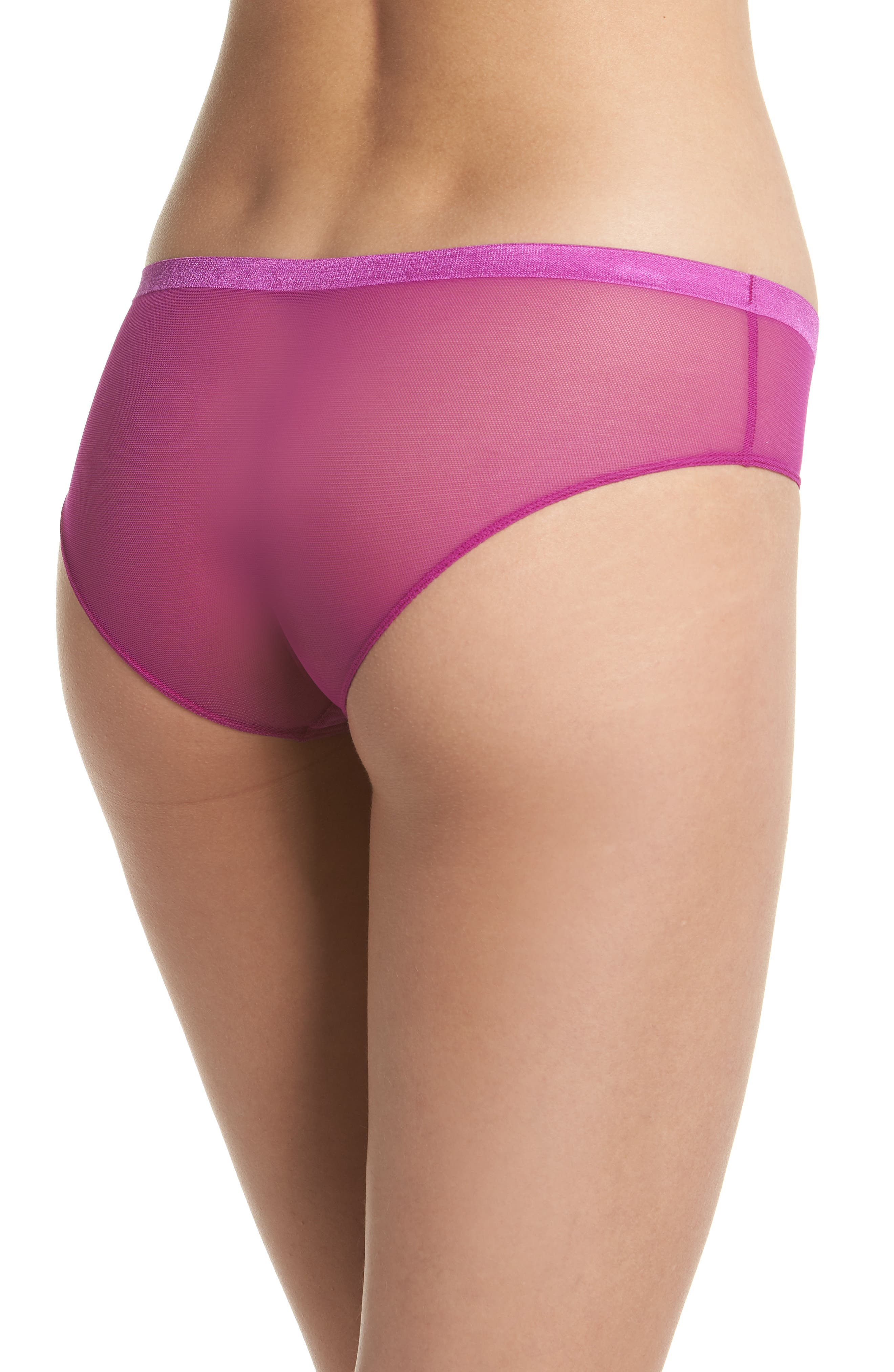 Roxanne Hipster Briefs,                             Alternate thumbnail 2, color,                             Pink