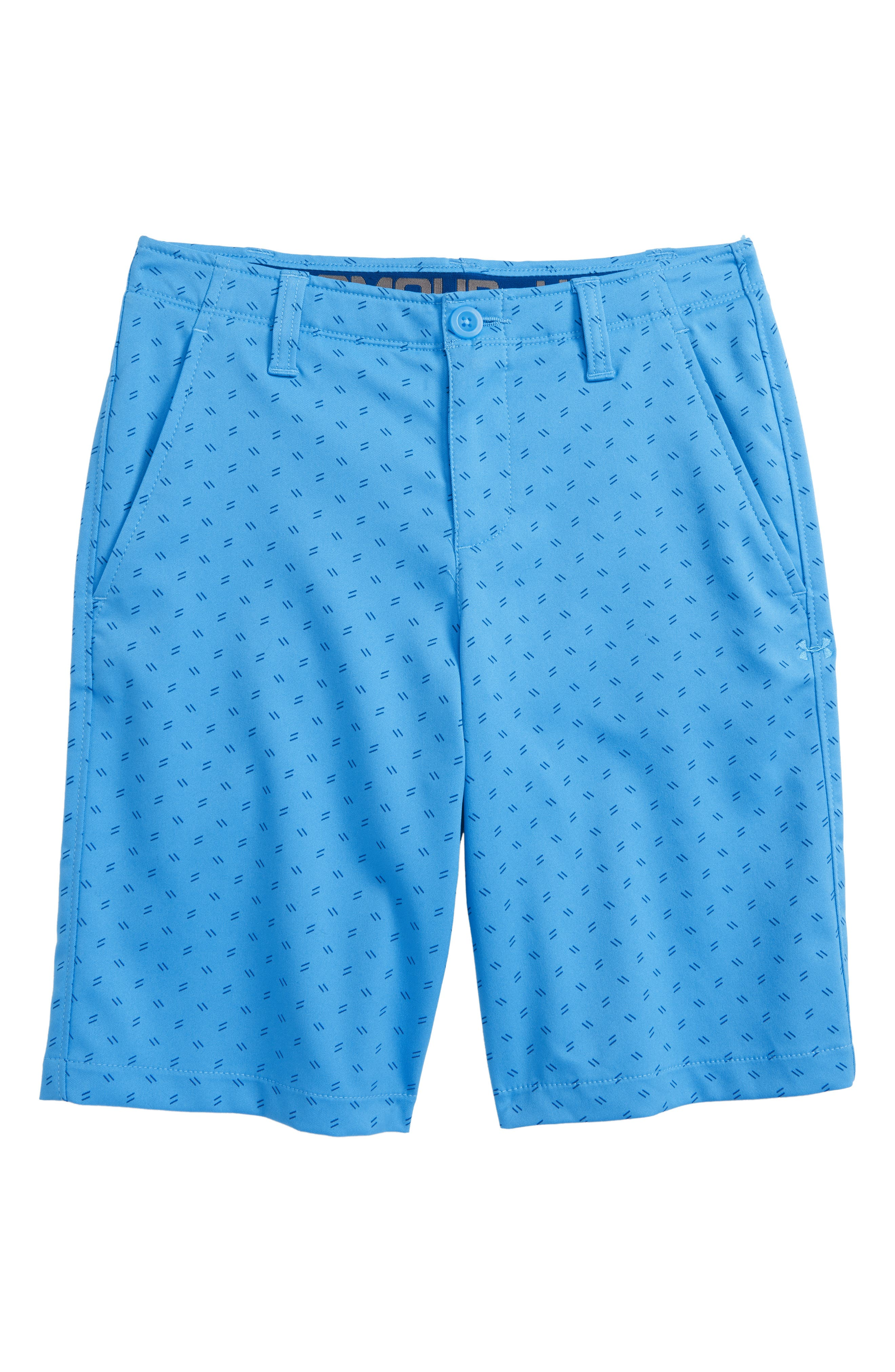 Match Play Golf Shorts,                         Main,                         color, Canoe Blue/ Moroccan Blue