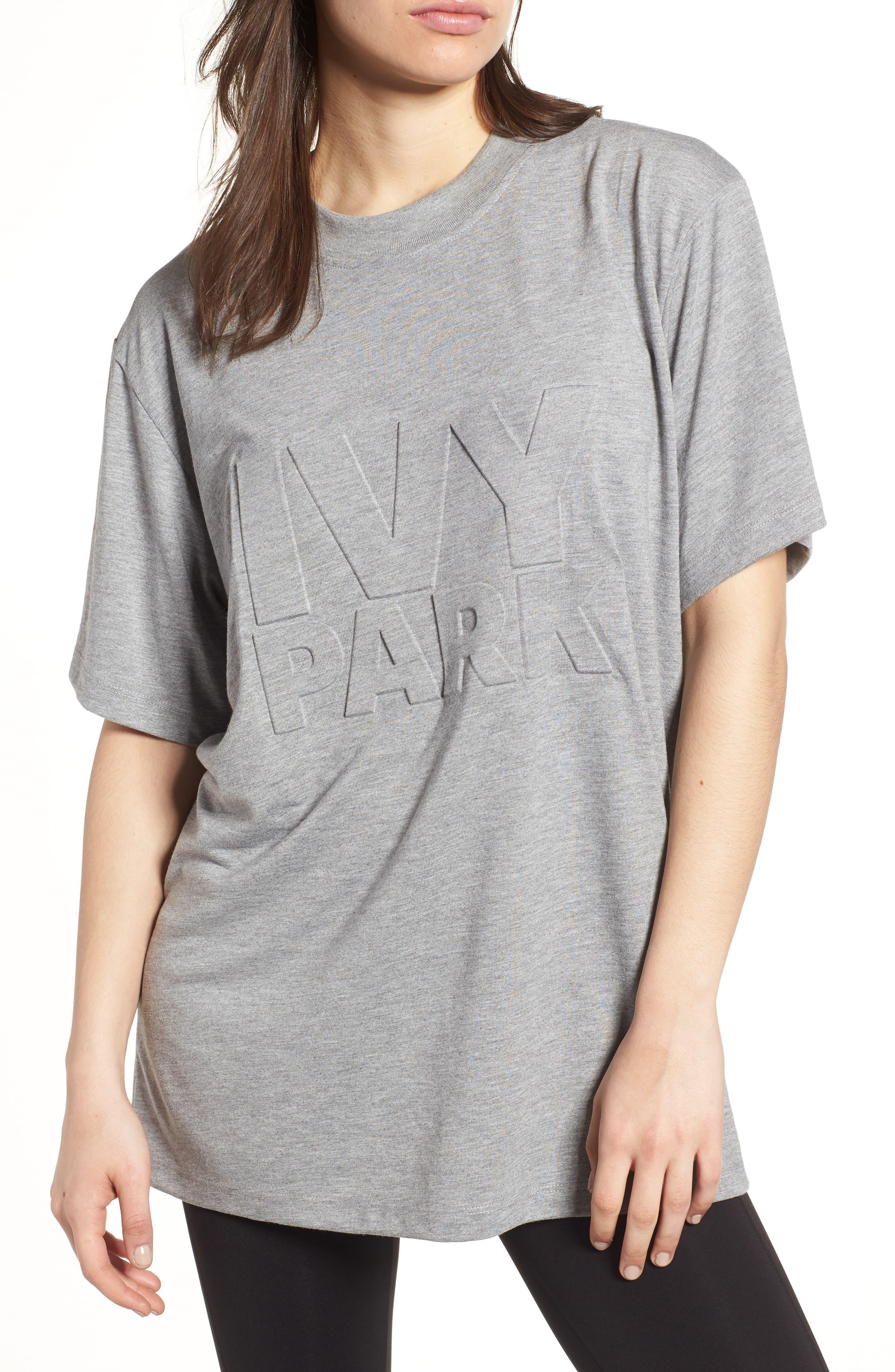 IVY PARK® Embossed Logo Tee