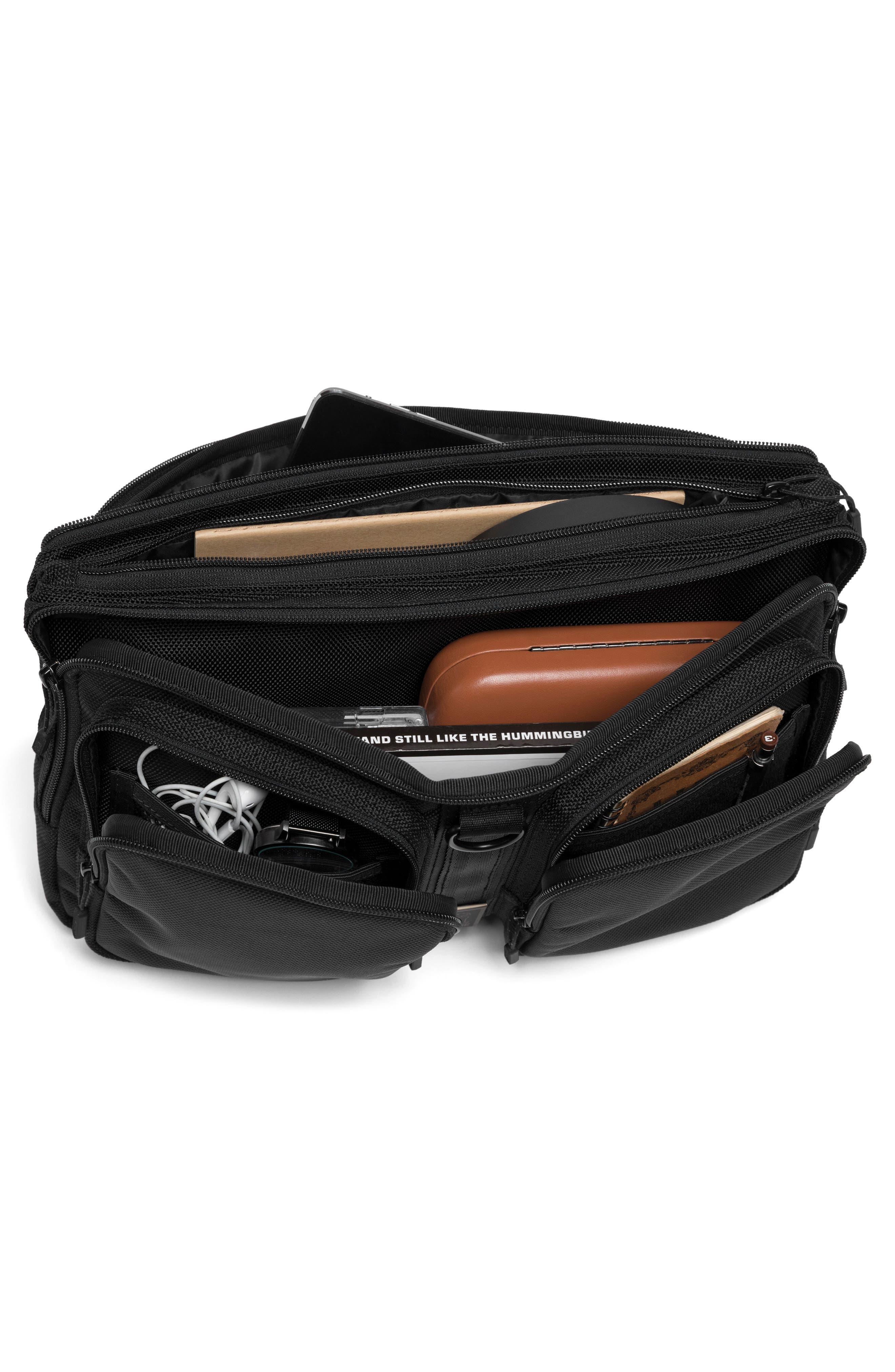 MXD Segment Sling Bag,                             Alternate thumbnail 3, color,                             All Black