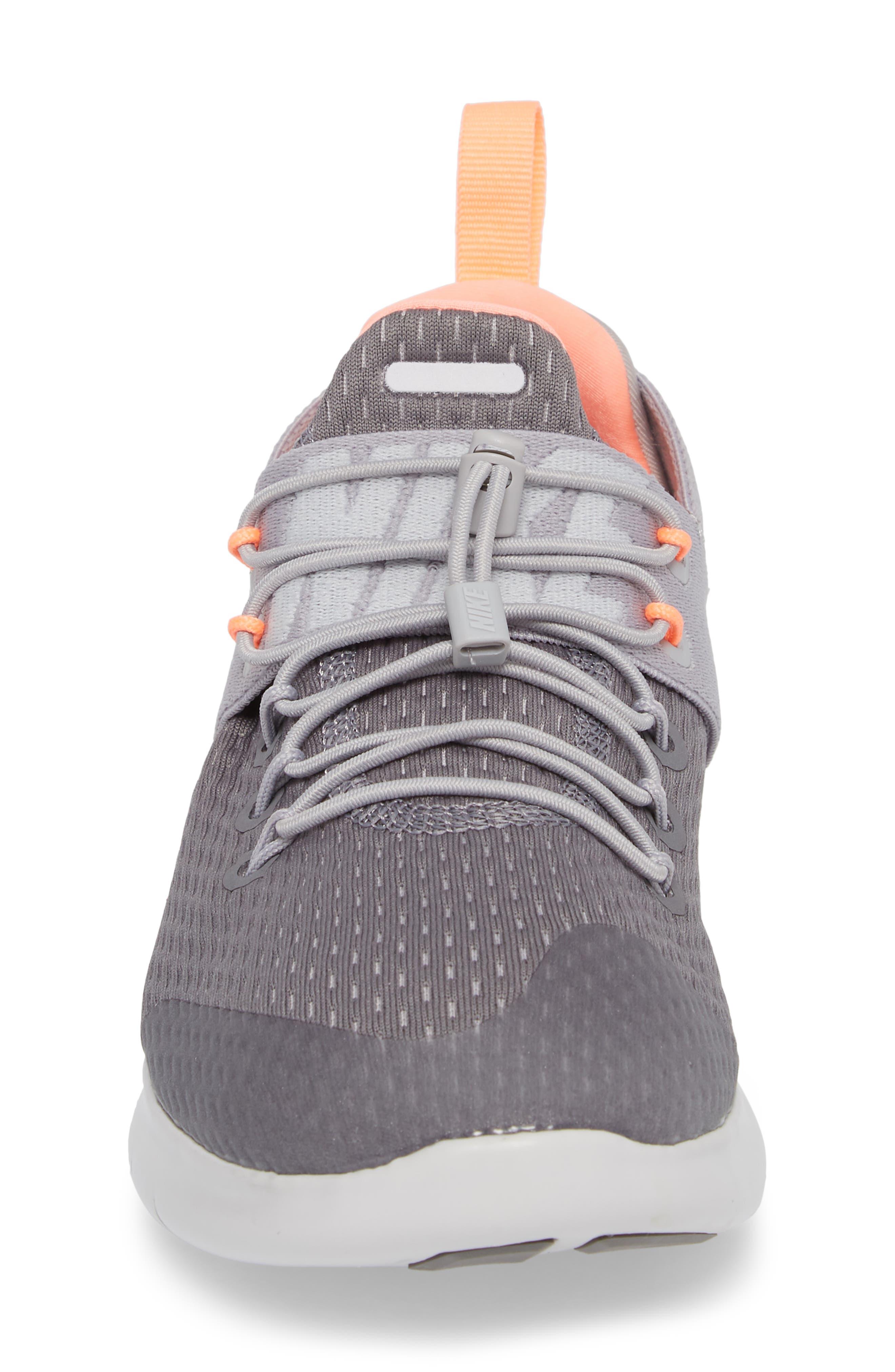 Free RN CMTR Running Shoe,                             Alternate thumbnail 4, color,                             Gunsmoke/ Crimson Pulse