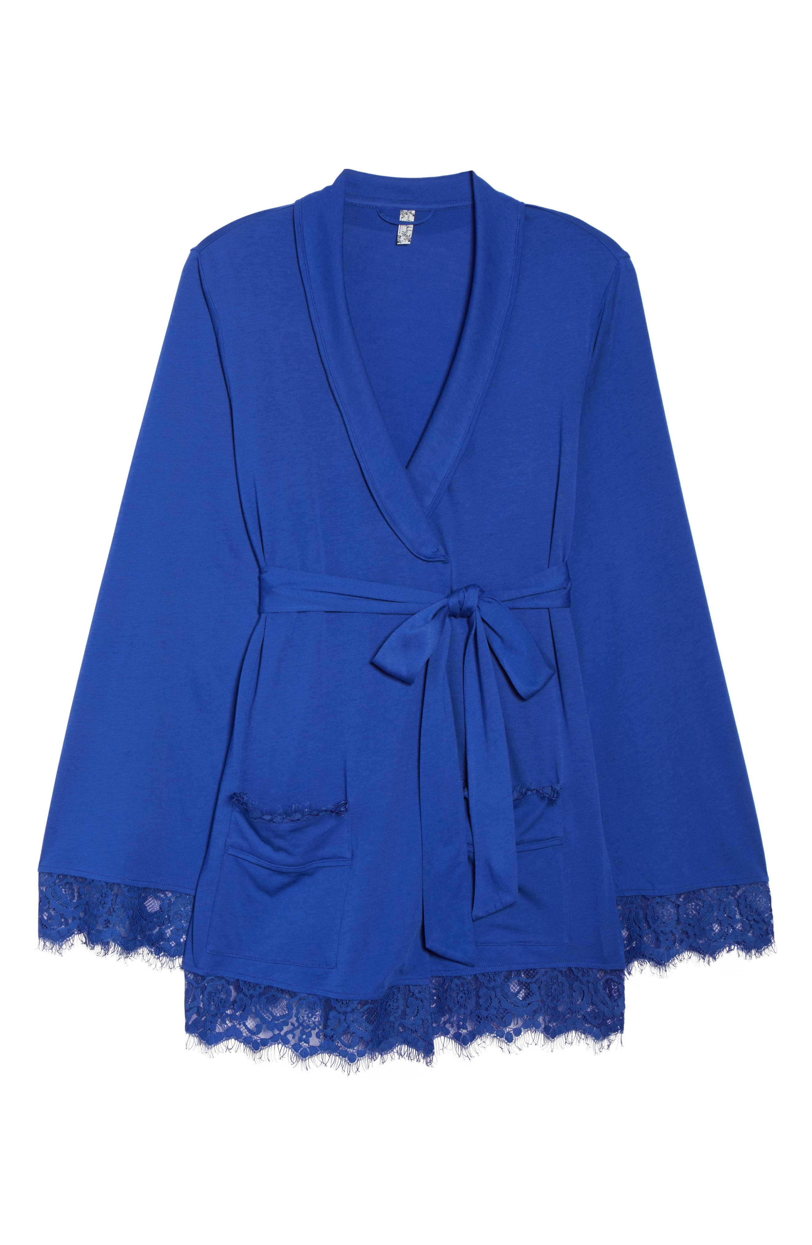 Sweetest Thing Robe,                             Alternate thumbnail 4, color,                             Blue