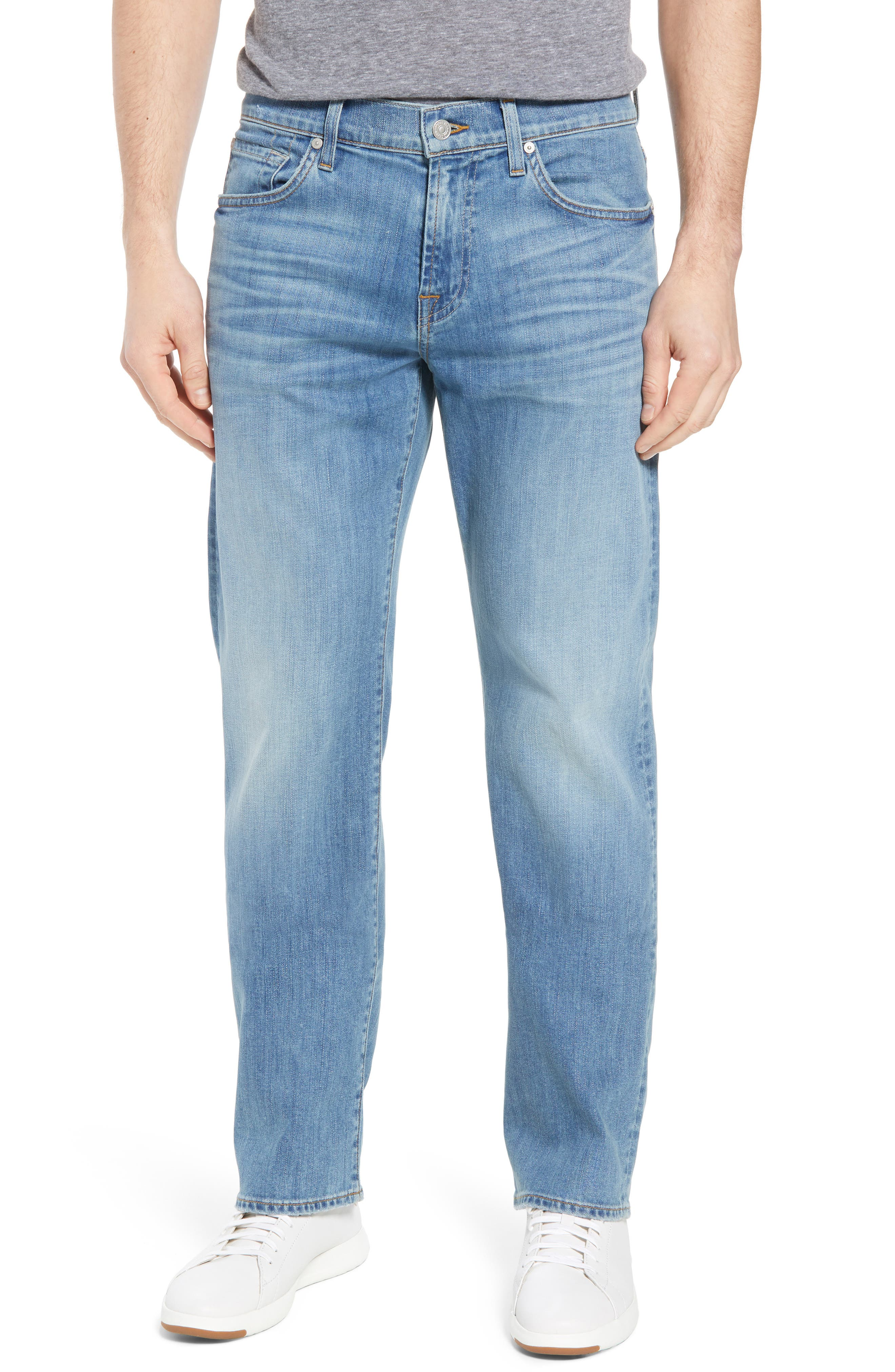 Austyn - Luxe Performance Relaxed Fit Jeans,                         Main,                         color, Vahalla