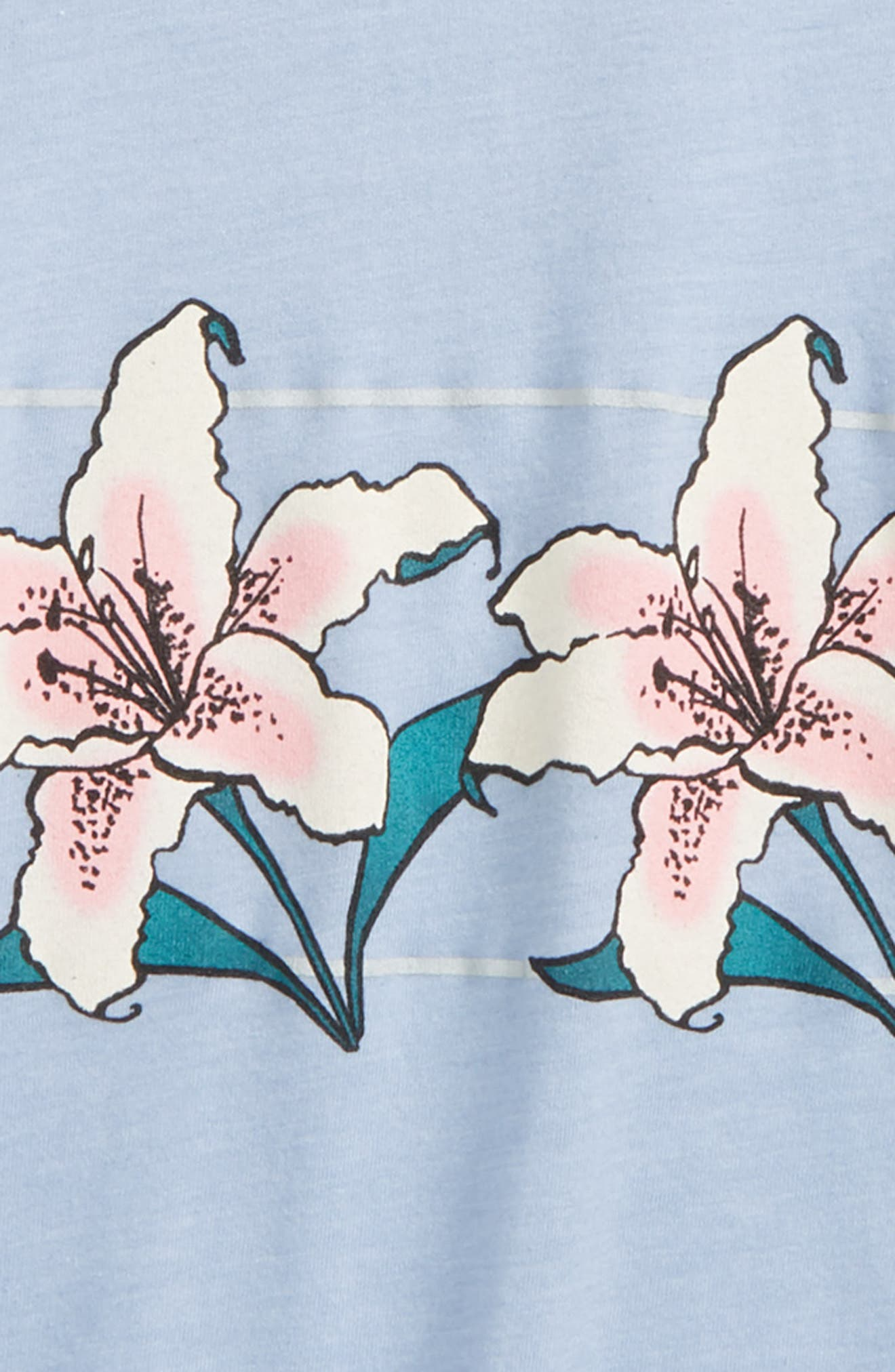 Lily Graphic Tee,                             Alternate thumbnail 2, color,                             Eventide