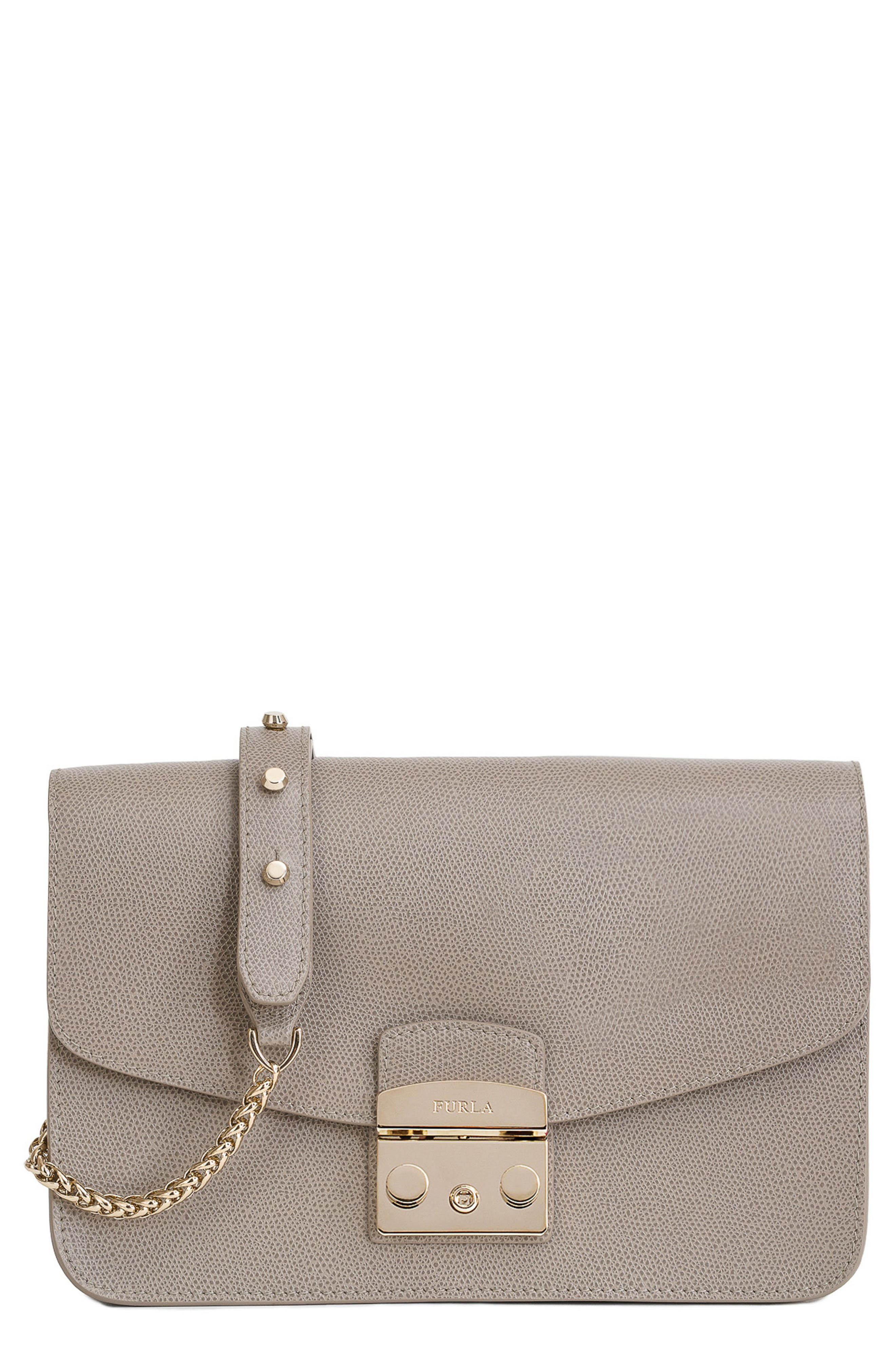 Furla Small Metropolis Leather Crossbody Bag