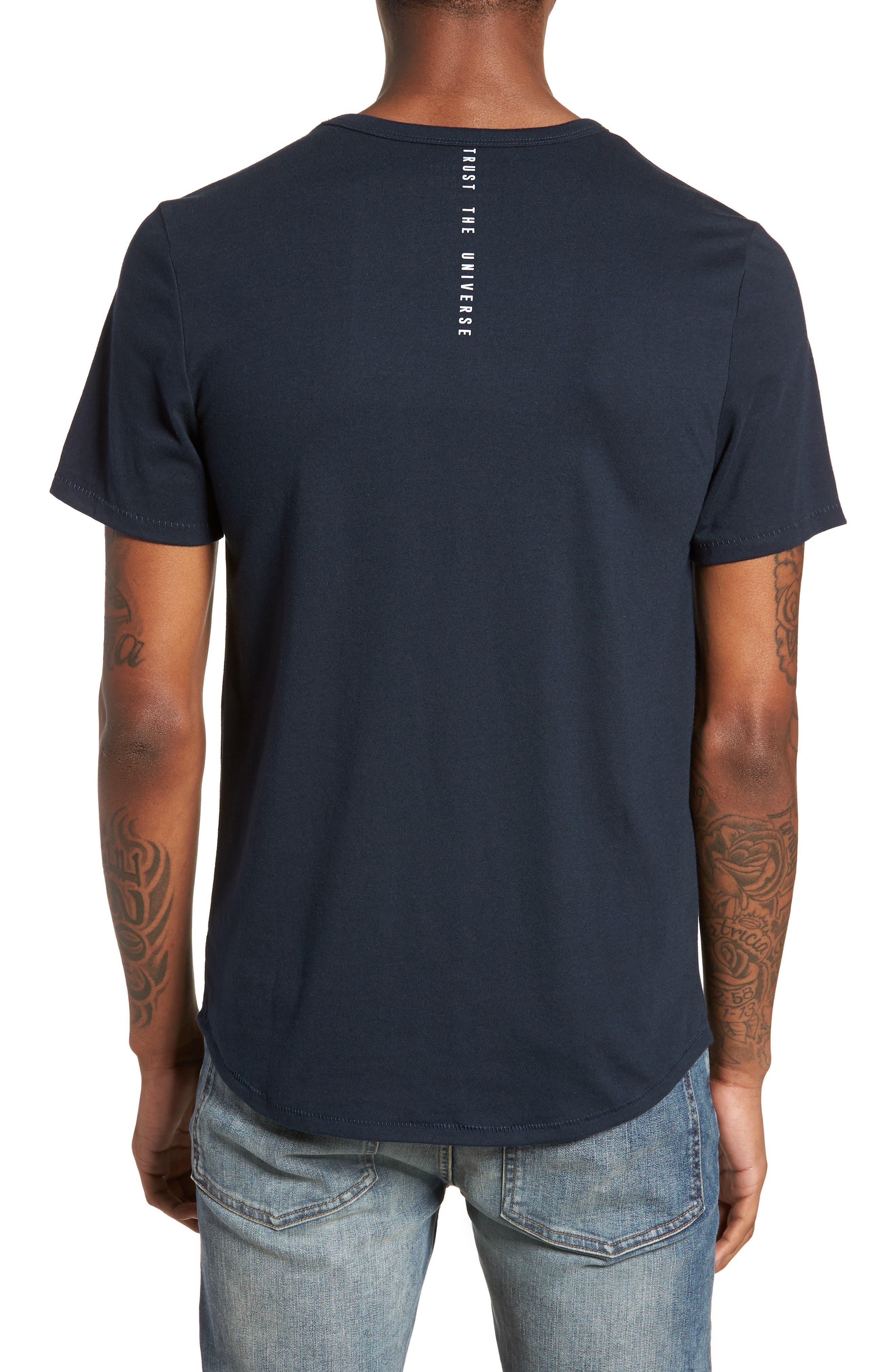Nirvana Camo T-Shirt,                             Alternate thumbnail 2, color,                             Salute/ Navy