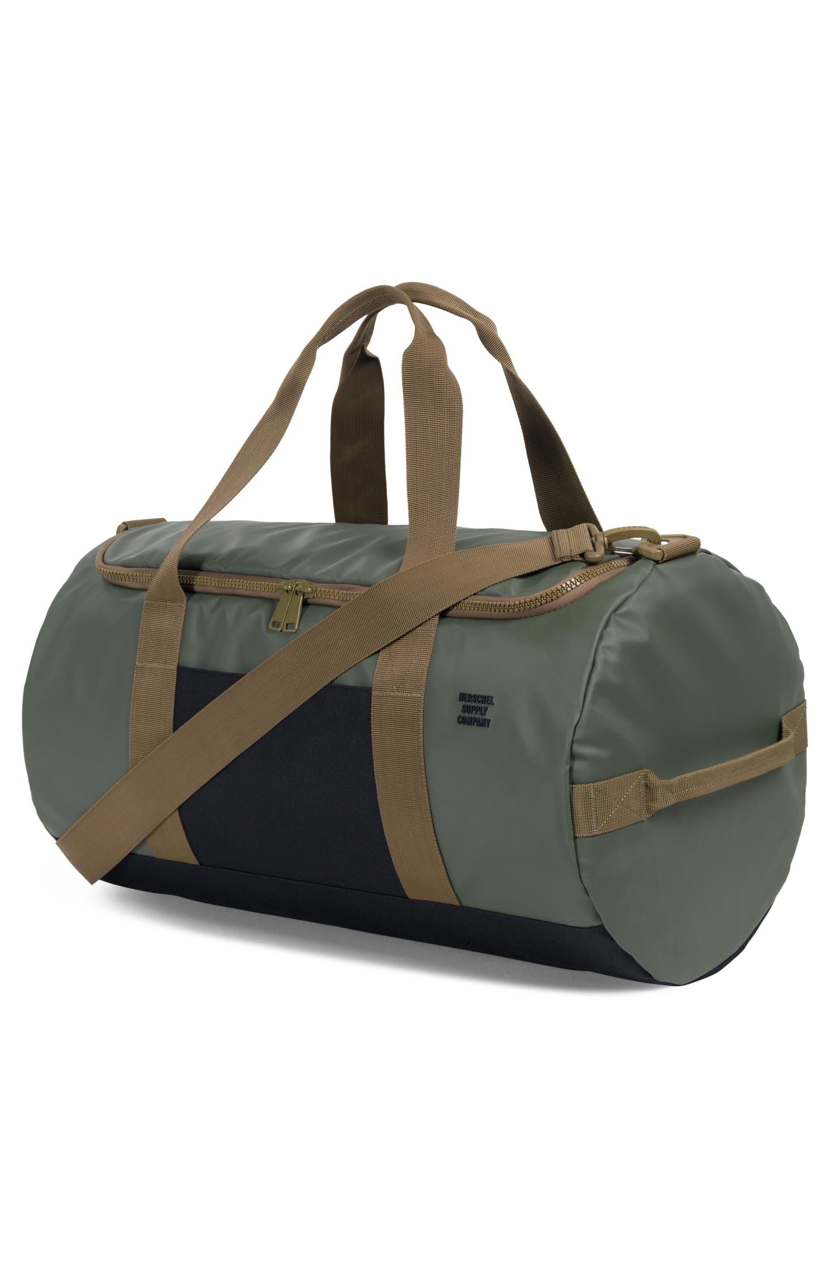 Sutton Polycoat Studio Duffel Bag,                             Alternate thumbnail 2, color,                             Beetle/Black/Gothic Olive