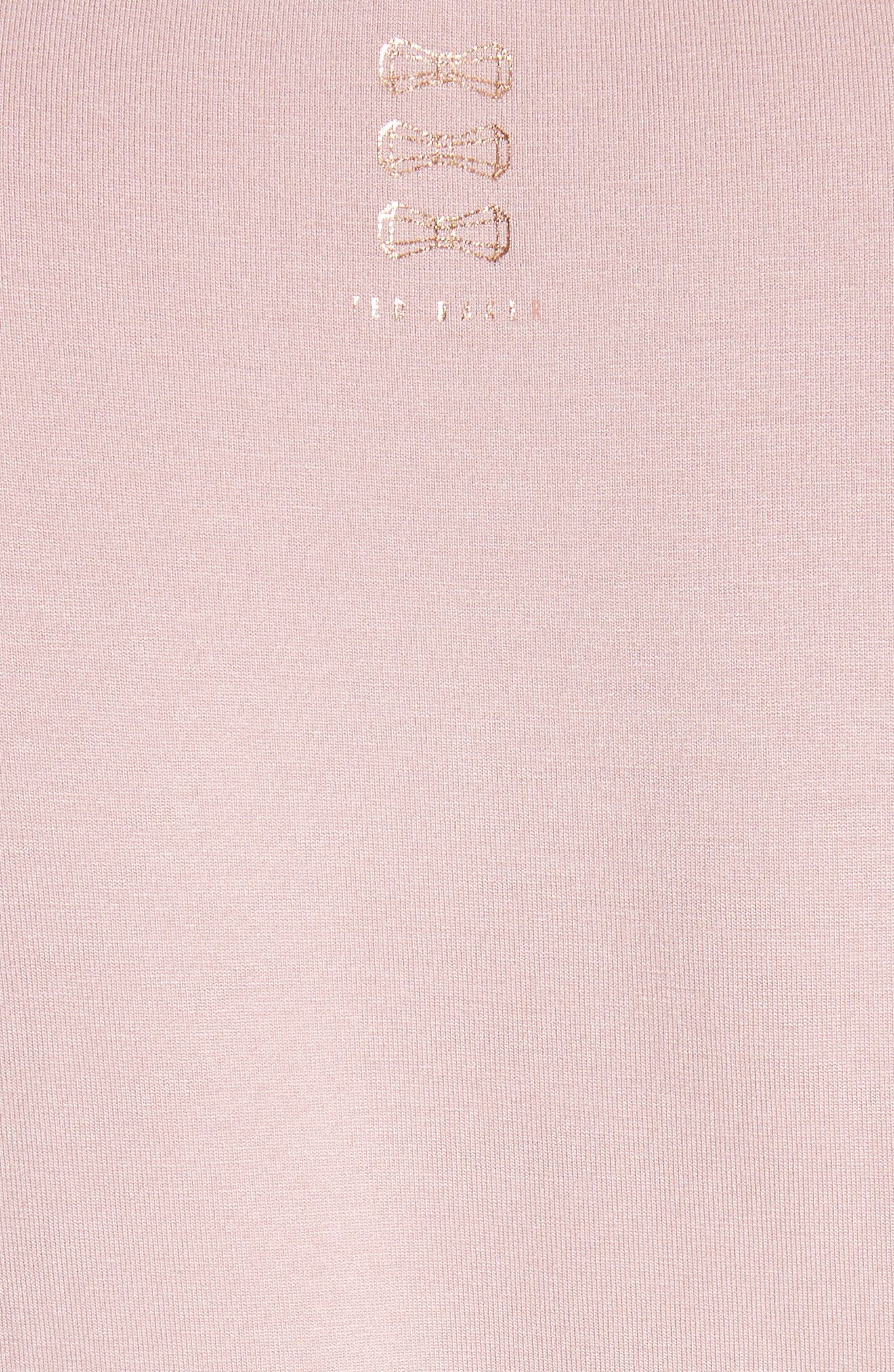 Beauty Sleep Tee,                             Alternate thumbnail 5, color,                             Dusky Pink