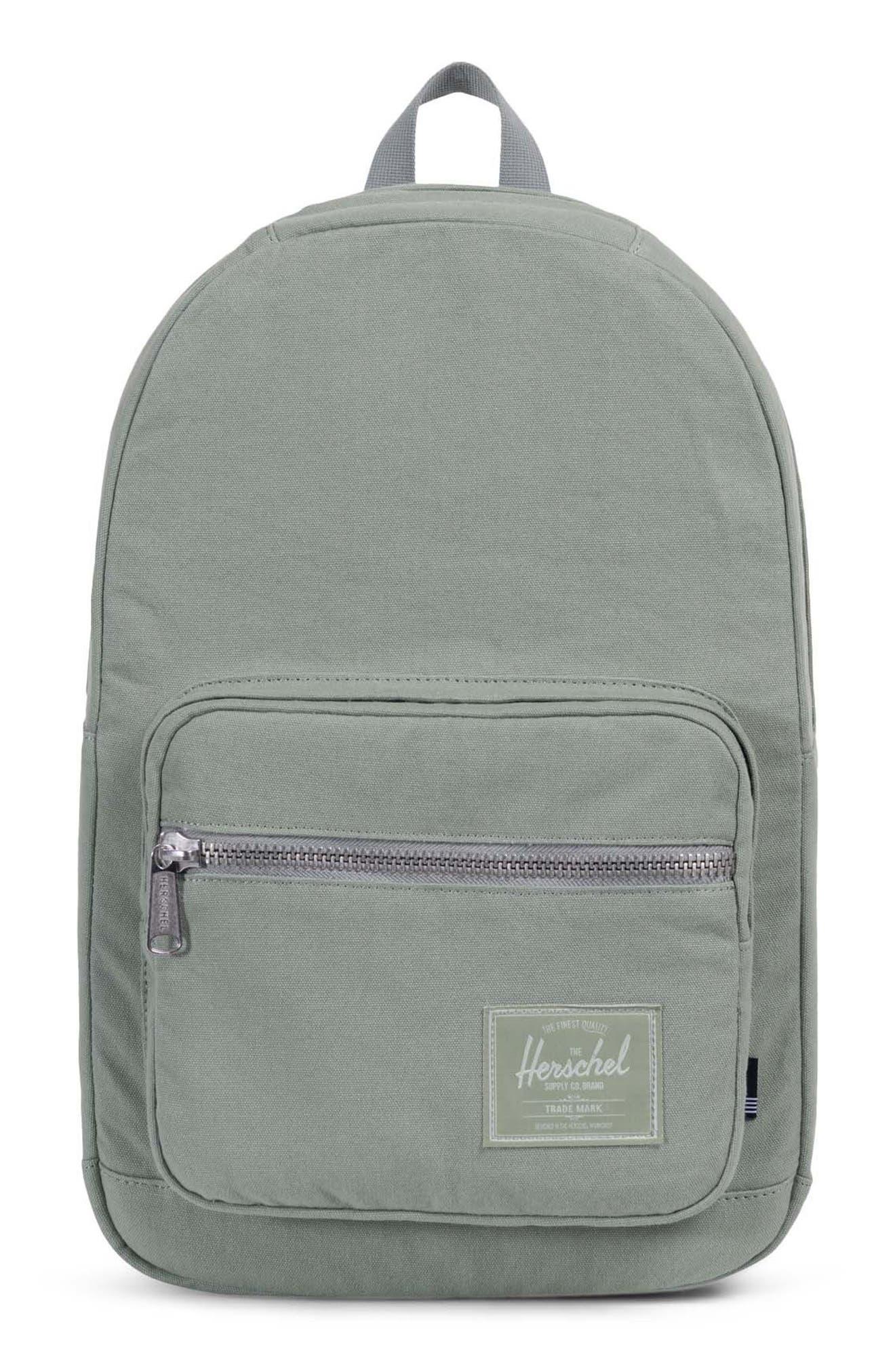 Pop Quiz Canvas Backpack,                             Main thumbnail 1, color,                             Shadow