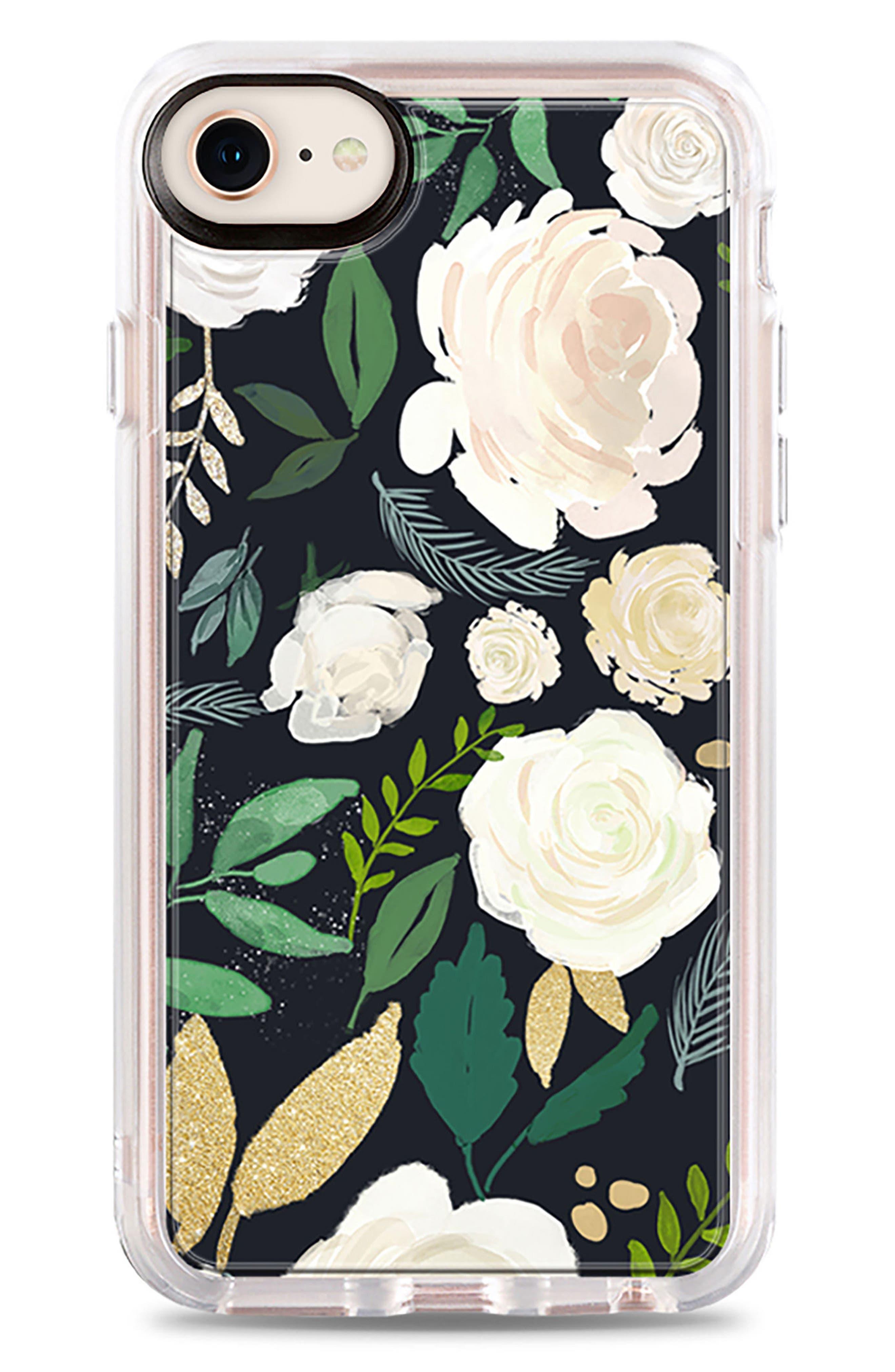 Watercolor Impact iPhone 7/8 & 7/8 Plus Case,                             Main thumbnail 1, color,                             Multi